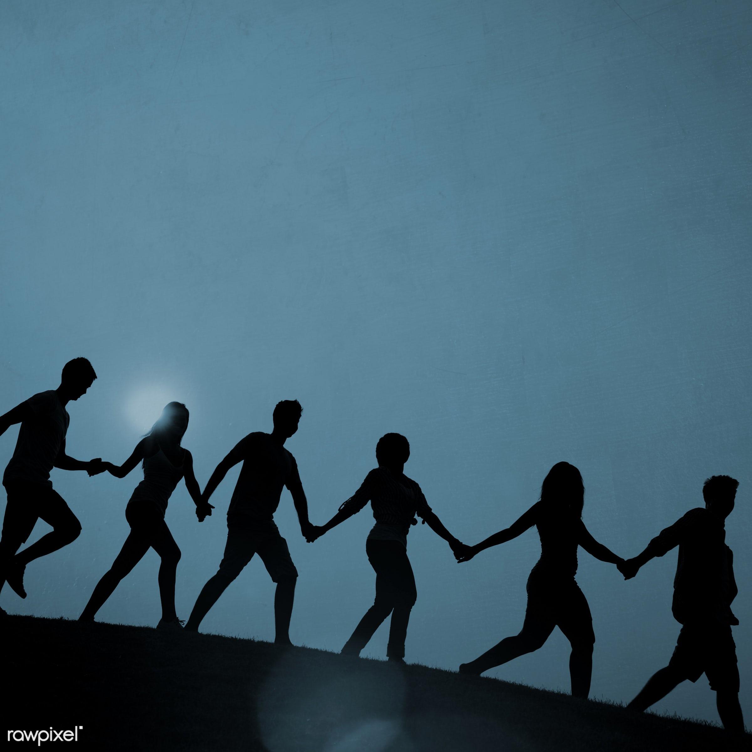 aspirations, backlit, bonding, concepts, contemporary, determination, effort, enjoyment, exercise, exercising, friends,...