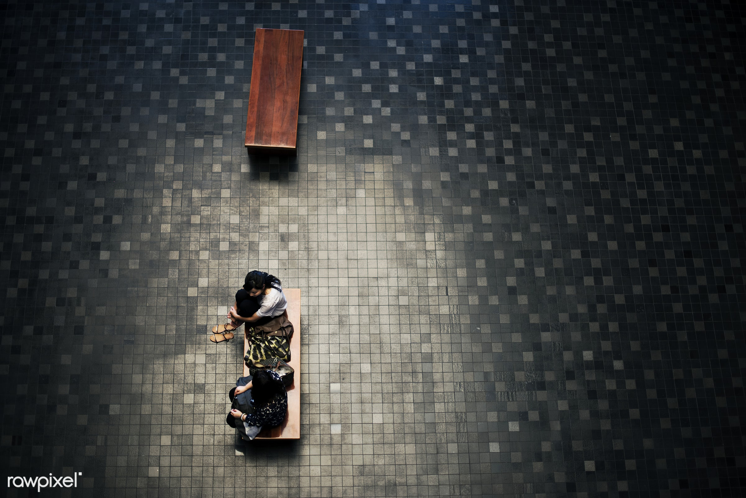 aerial view, architect, asia, asian, bench, college, discussion, floor, friends, japan, japanese, modern, shoppingmall,...