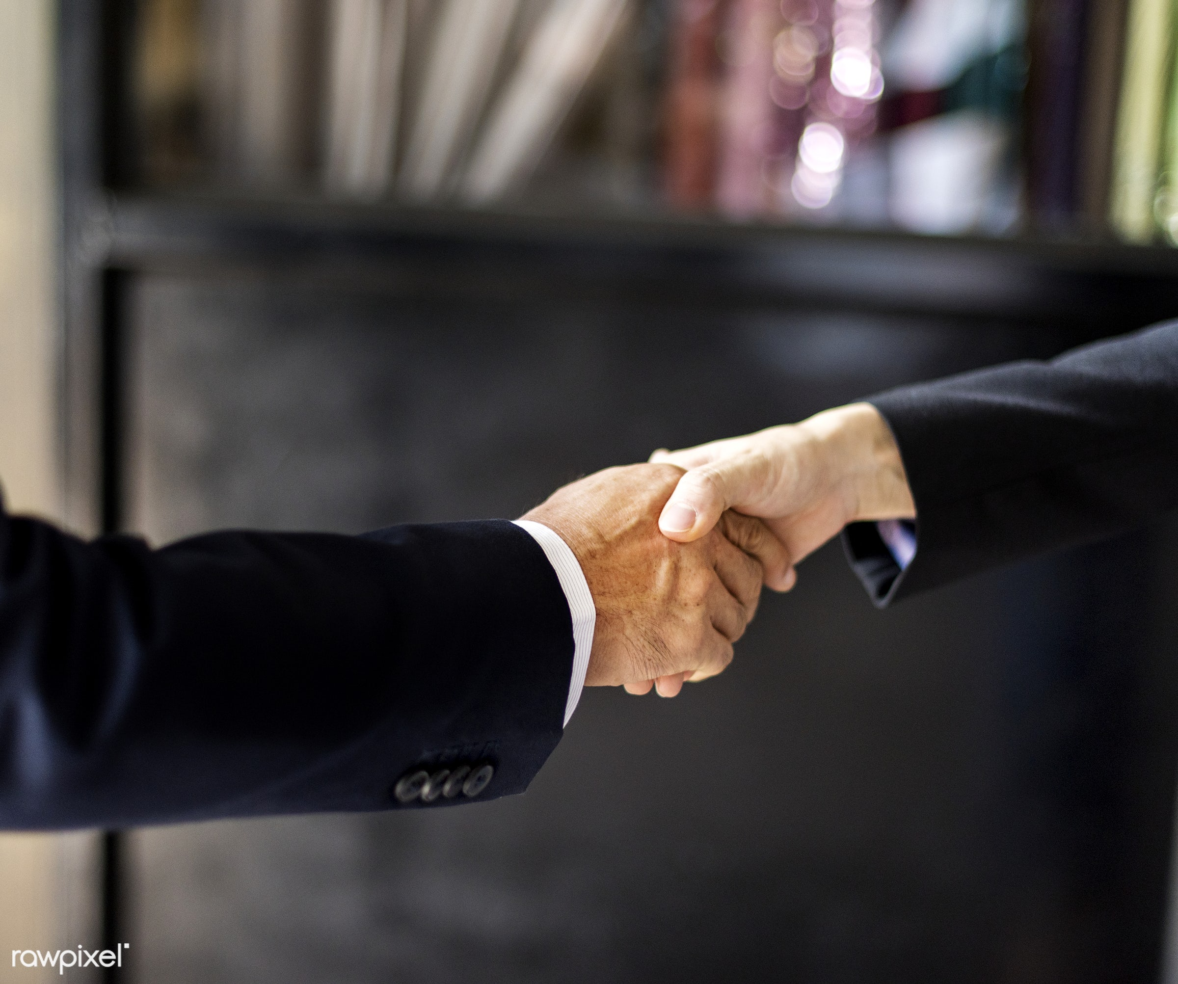 business, closeup, collaboration, colleagues, corporate, culture, deal, gesture, greeting, hands, handshake, office worker,...