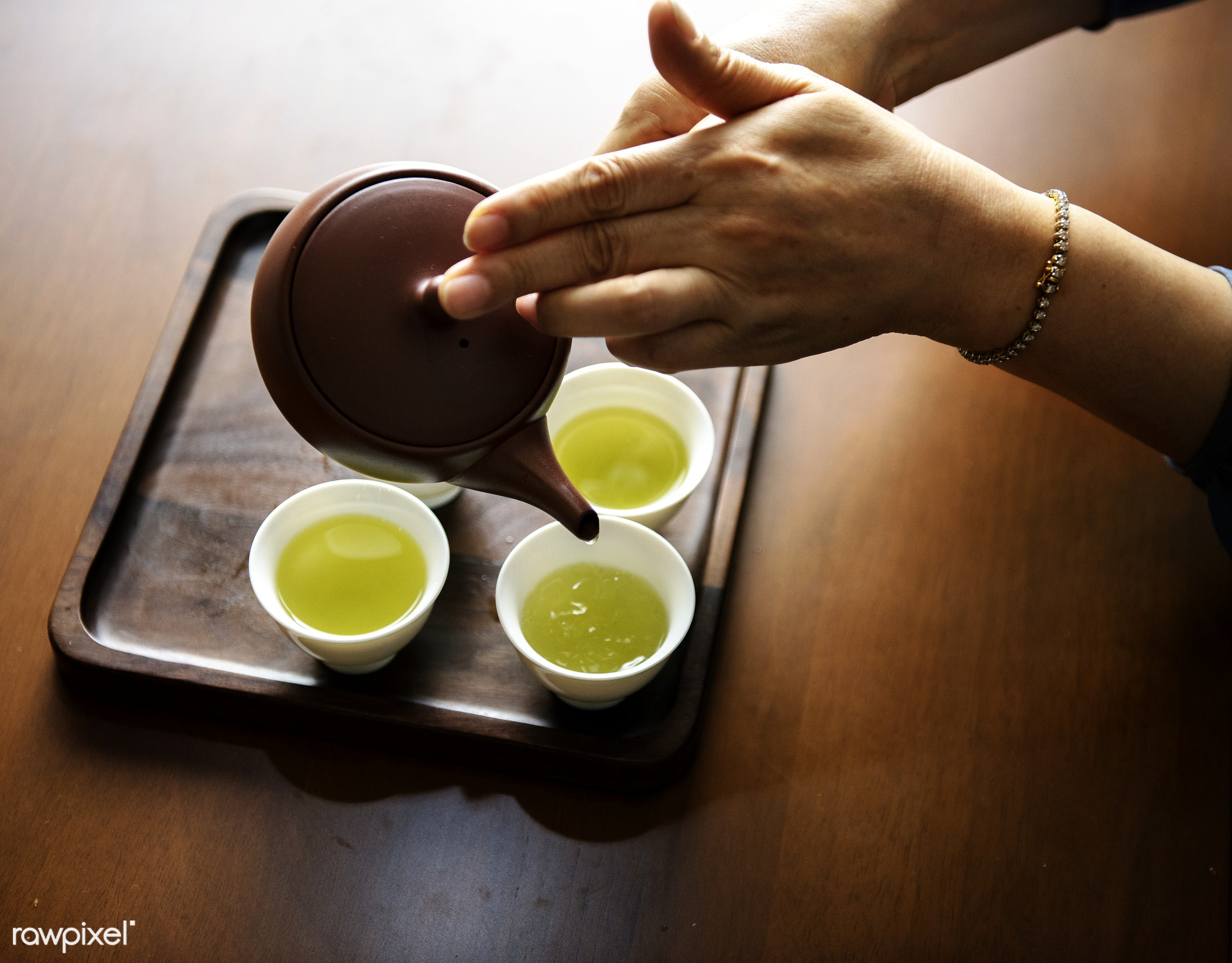 Pouring tea - asia, asian, cc0, ceremony, creative common 0, creative commons 0, culture, drinking, formal, green tea, home...