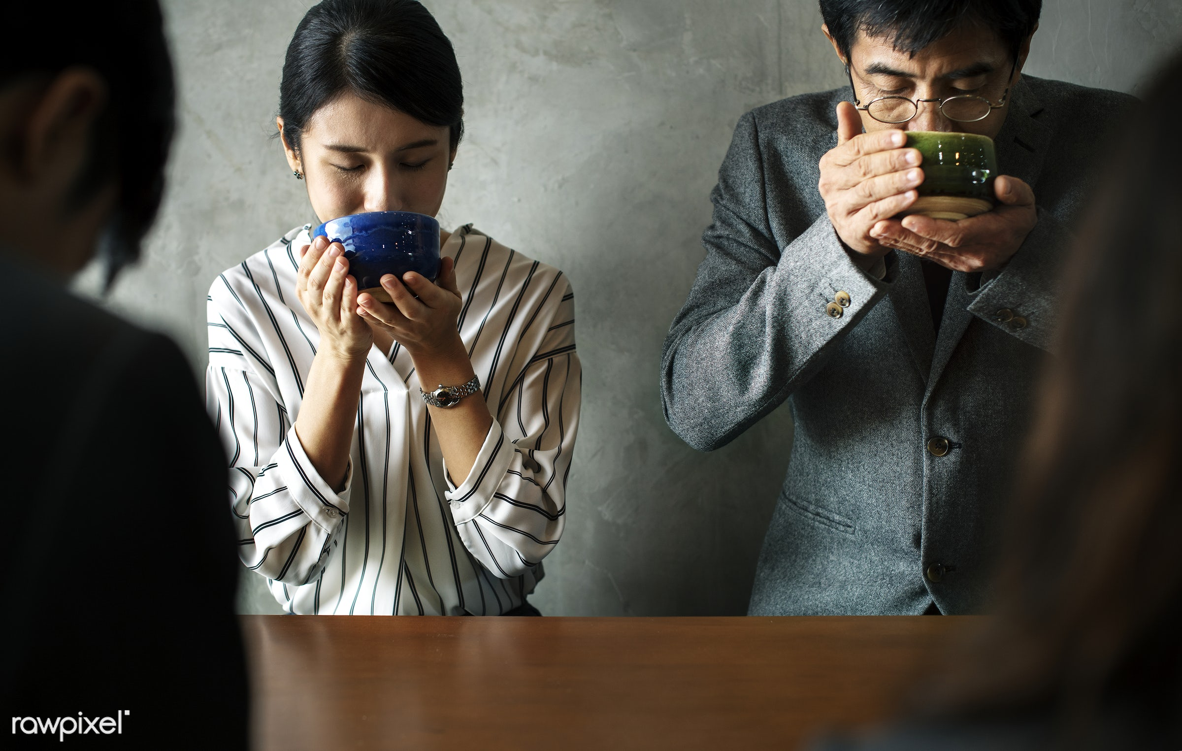 tea, japan, japanese, asia, asian, business people, ceremony, culture, drinking, formal, group, lifestyle, meeting, oriental...