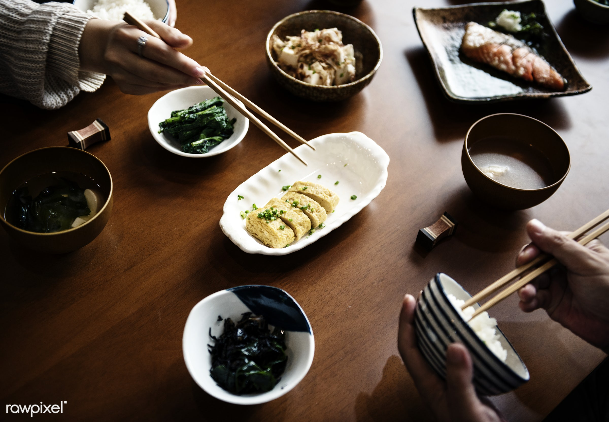 Japanese food - japanese, asia, asian, cuisine, delicious, dining, eating, food, group, healthy, japan, japanese food,...
