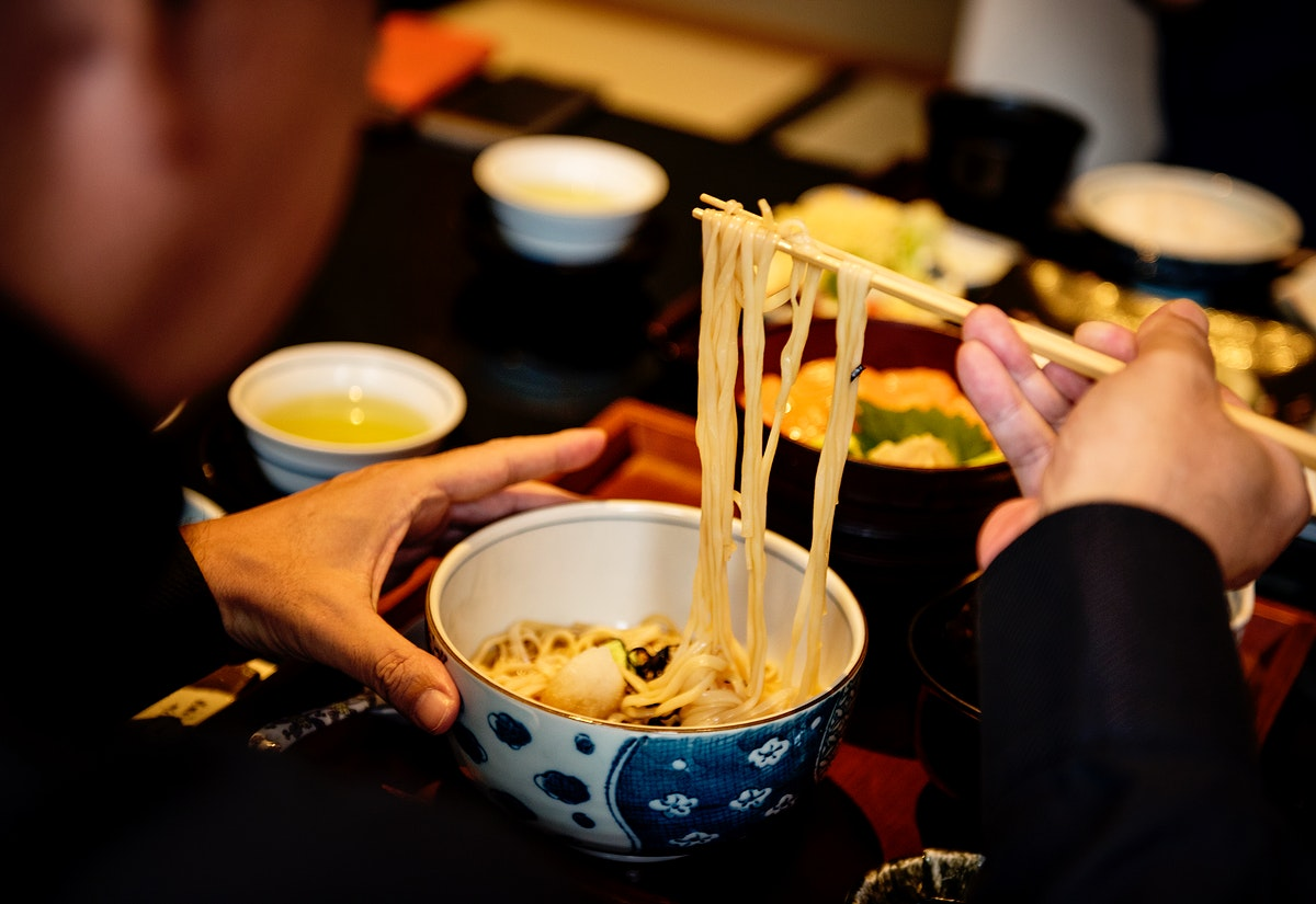 Soba noodle,  japanese food