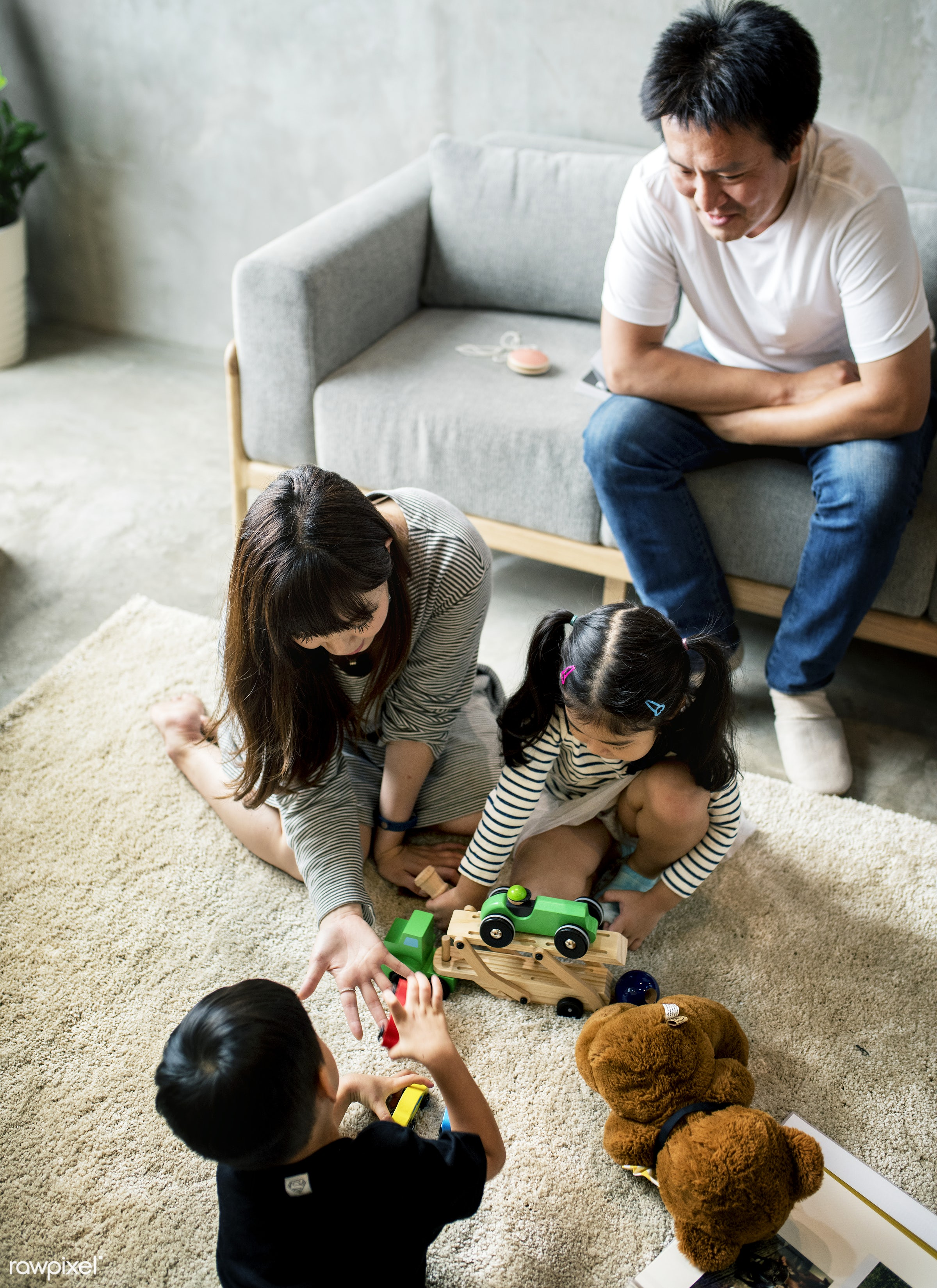 family, playing, japan, sister, adorable, asian, brother, casual, childhood, children, happiness, hobby, innocence, japanese...