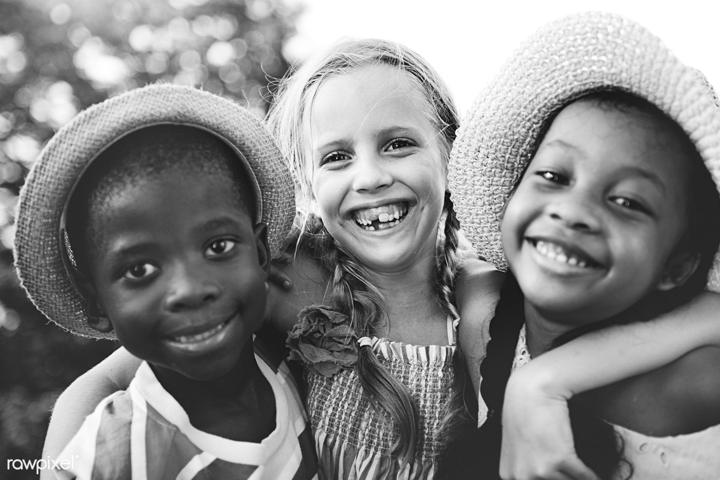 children, people, friendship, cheerful, smiling, closeup, black, diversity, african descent, togetherness, happiness, kids,...