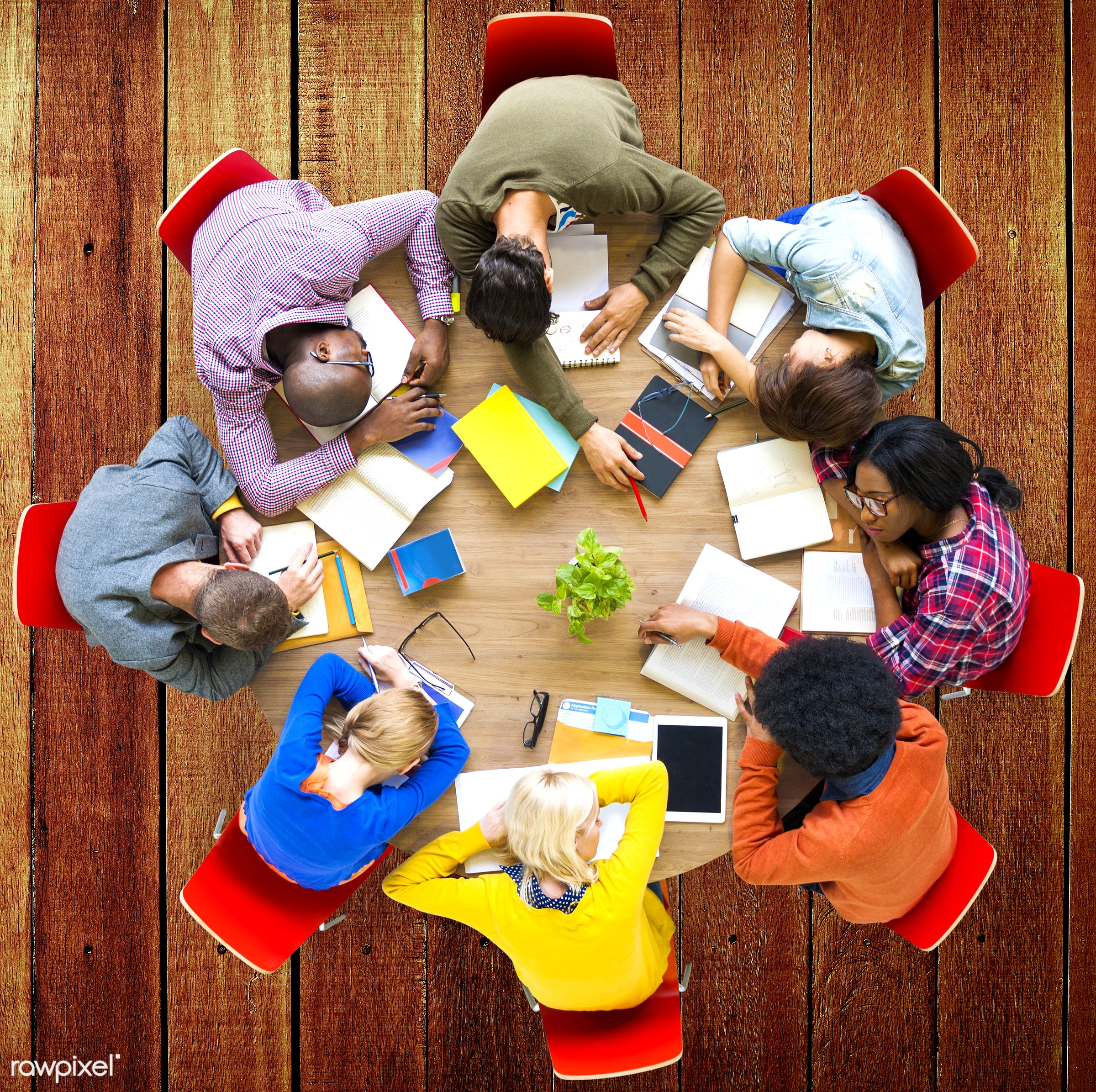 aerial view, african descent, asian ethnicity, boredom, diversity, education, ethnicity, exhaustion, friends, friendship,...