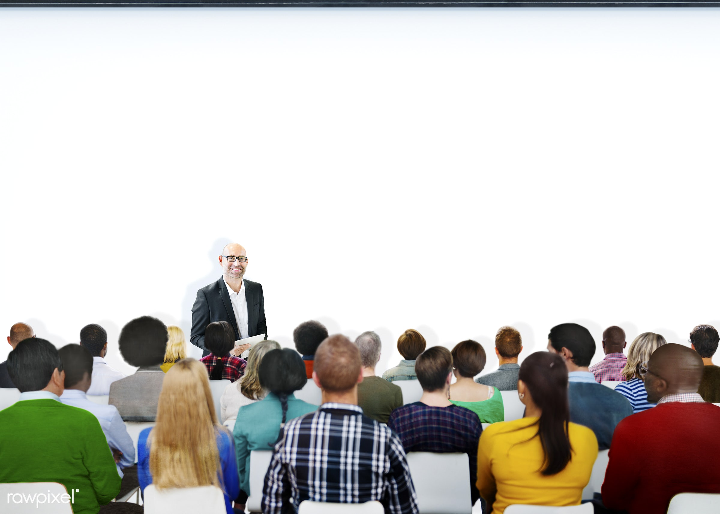audience, casual, colorful, community, conference, copy space, crowd, diverse, diversity, ethnic, ethnicity, group, group of...