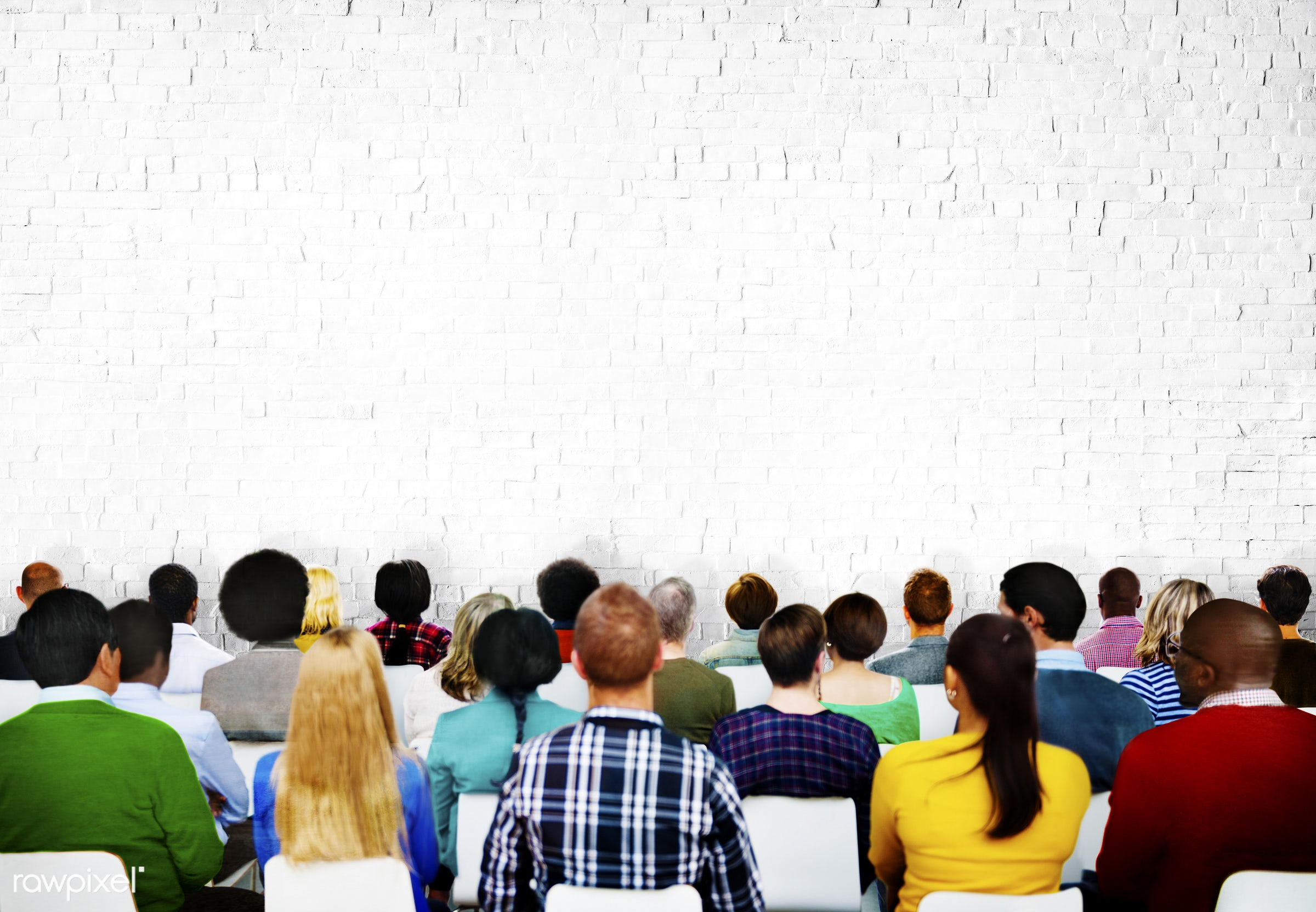 audience, blank, casual, colorful, communicate, communication, community, conference, copy space, crowd, diverse, diversity...