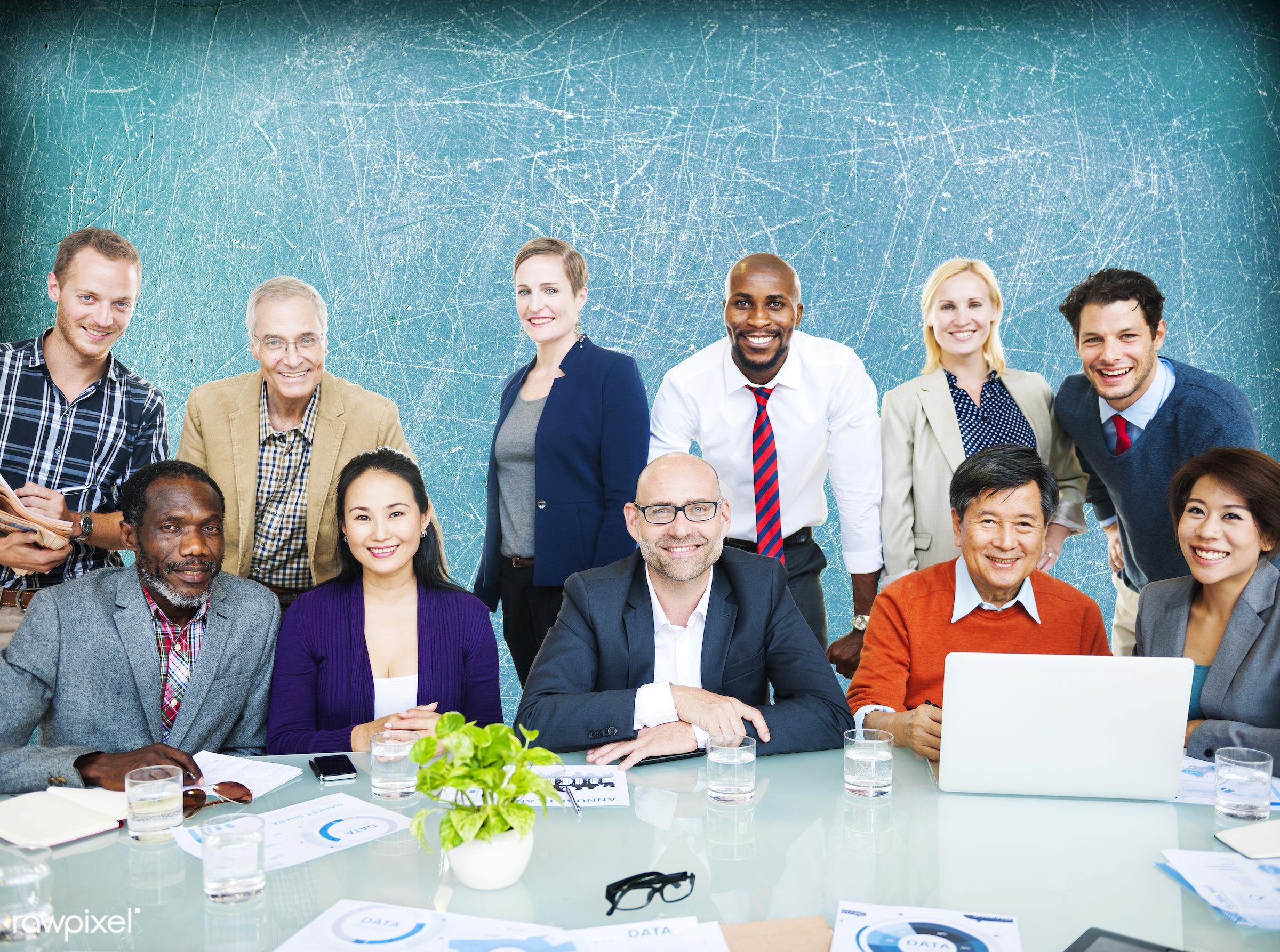 african descent, asian ethnicity, business, business people, businessmen, businesswomen, casual, communication, community,...