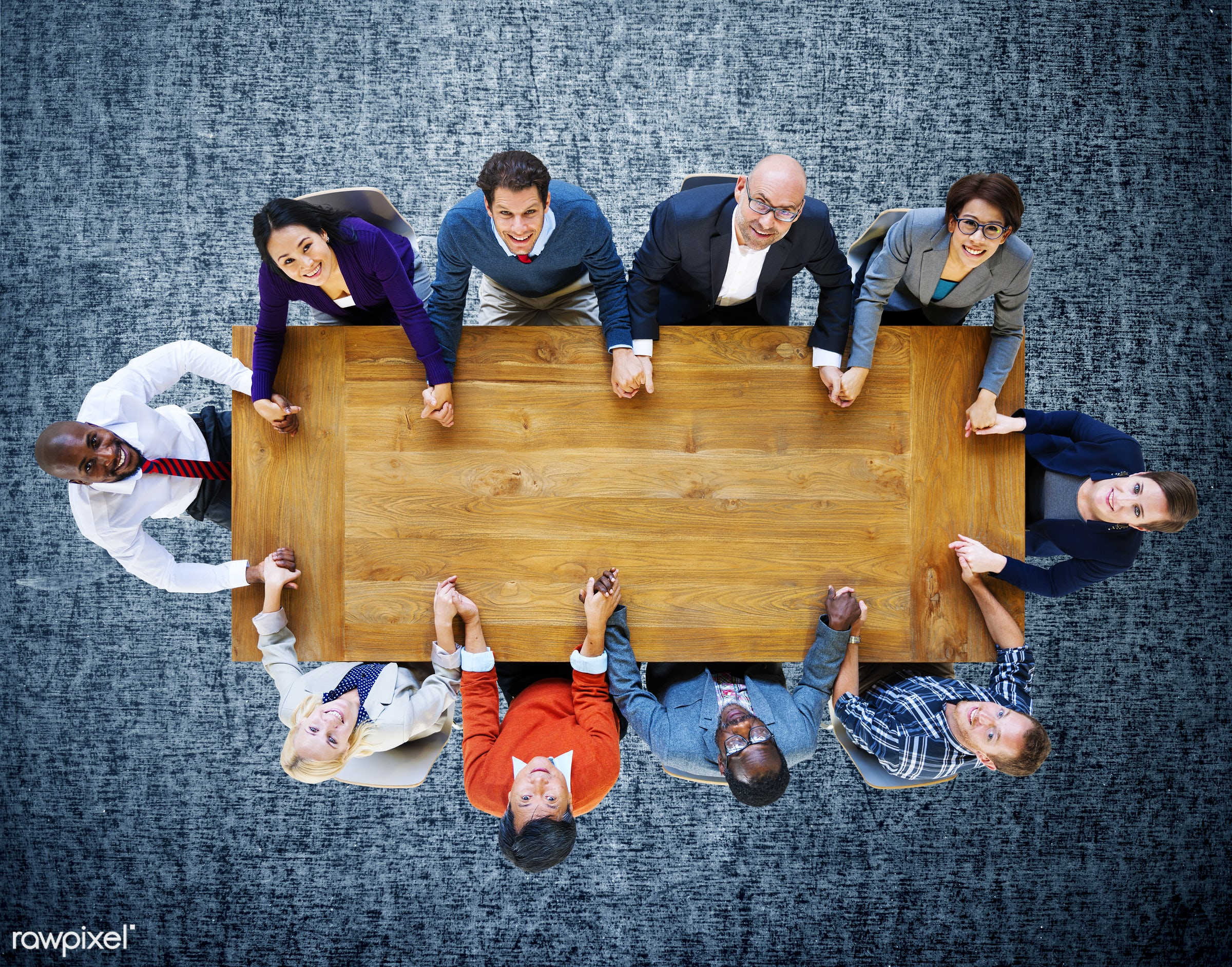 aerial view, african descent, asian ethnicity, business, business people, businessmen, businesswomen, carpet, cheerful,...