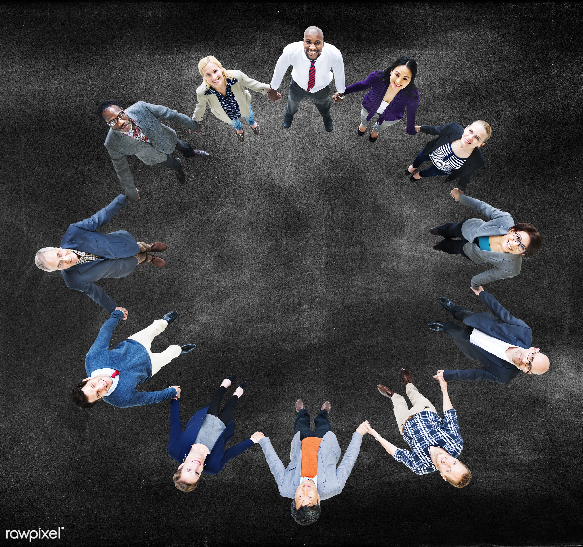 aerial view, african descent, asian ethnicity, blackboard, blank, business, business people, businessmen, businesswomen,...