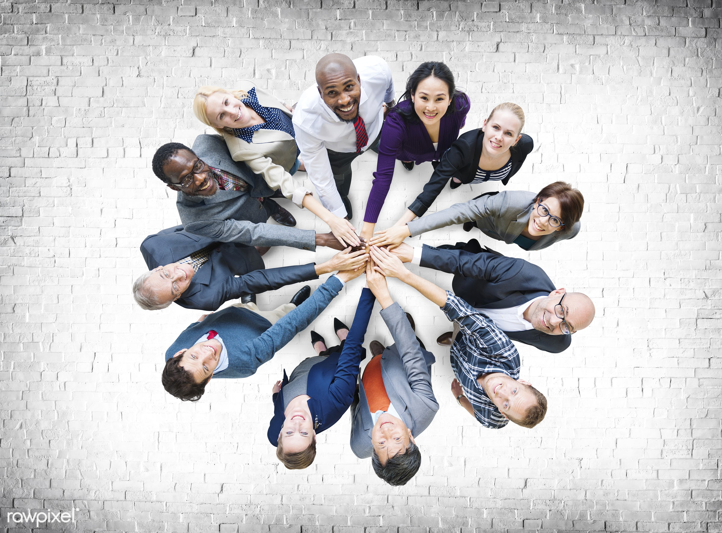 african descent, asian ethnicity, brick, business, business people, businessmen, businesswomen, cheerful, communication,...