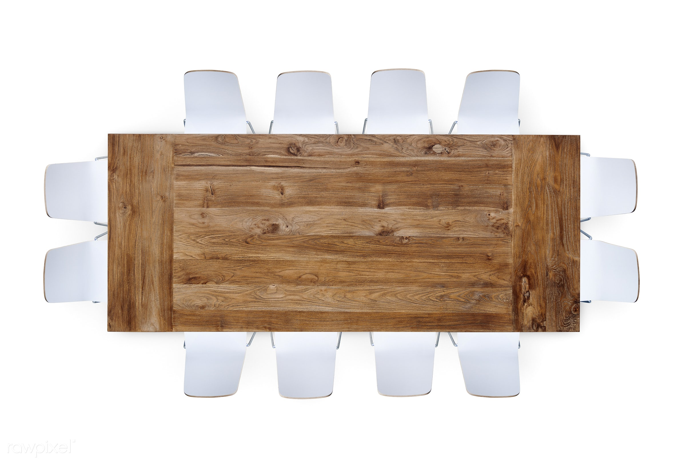 contemporary, Sparse, white, aerial view, architecture, board room, brown table, business, chair, conference call,...
