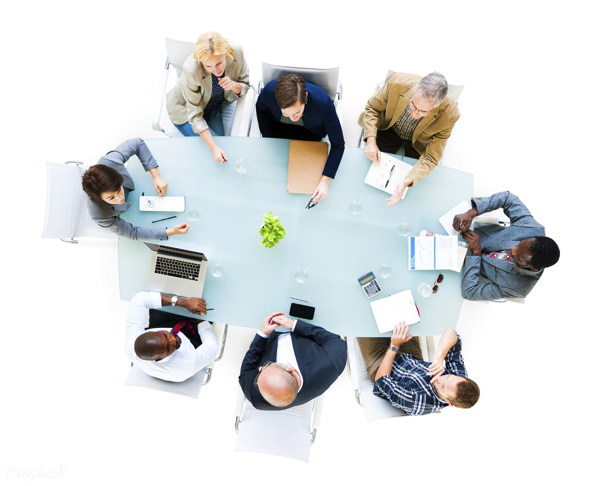 aerial view, african ethnicity, asian ethnicity, board room, brainstorming, business, casual, caucasian, communication,...
