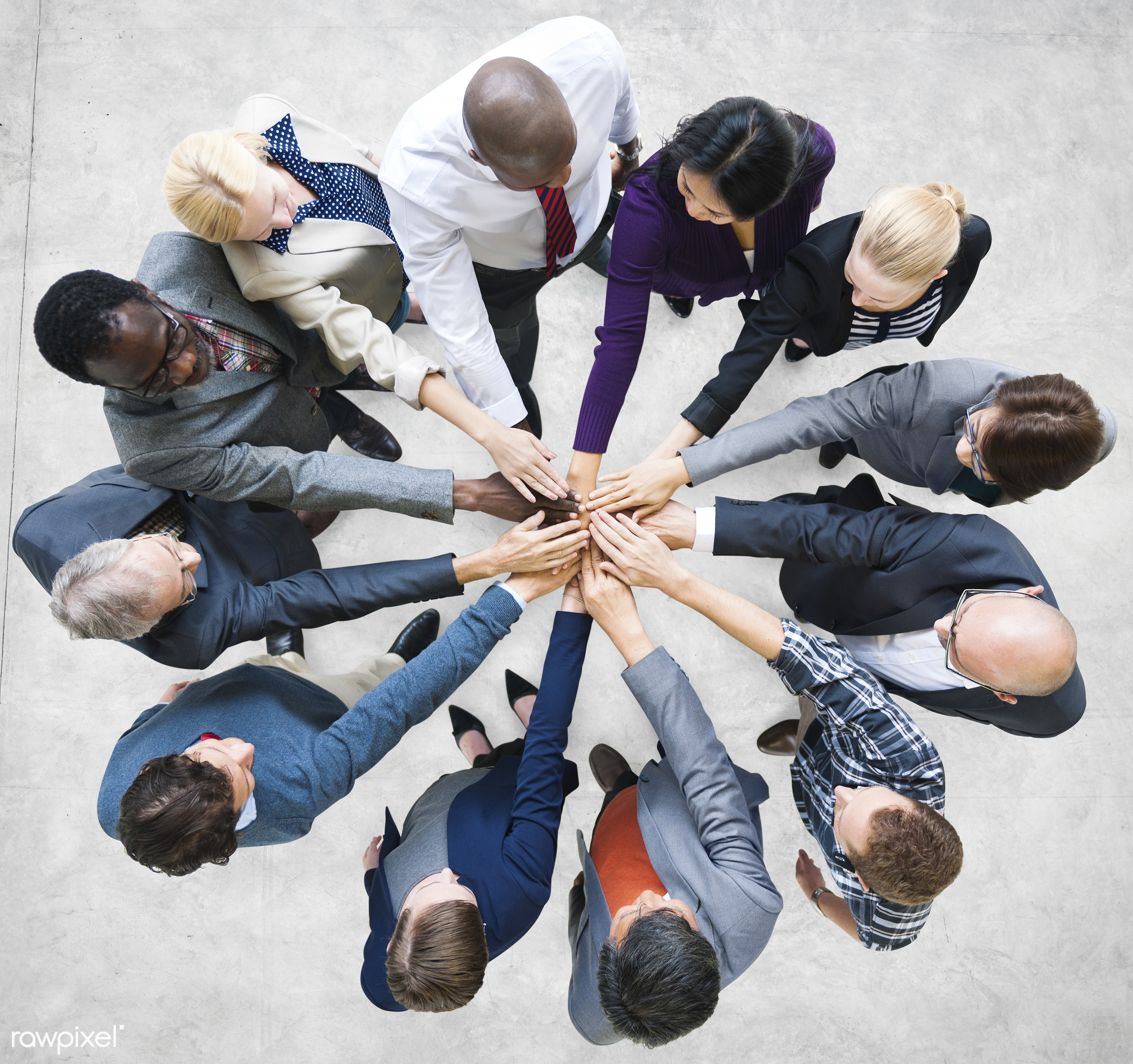 Team Teamwork Togetherness Community Connection Concept - african american, african descent, architecture, asian, black,...