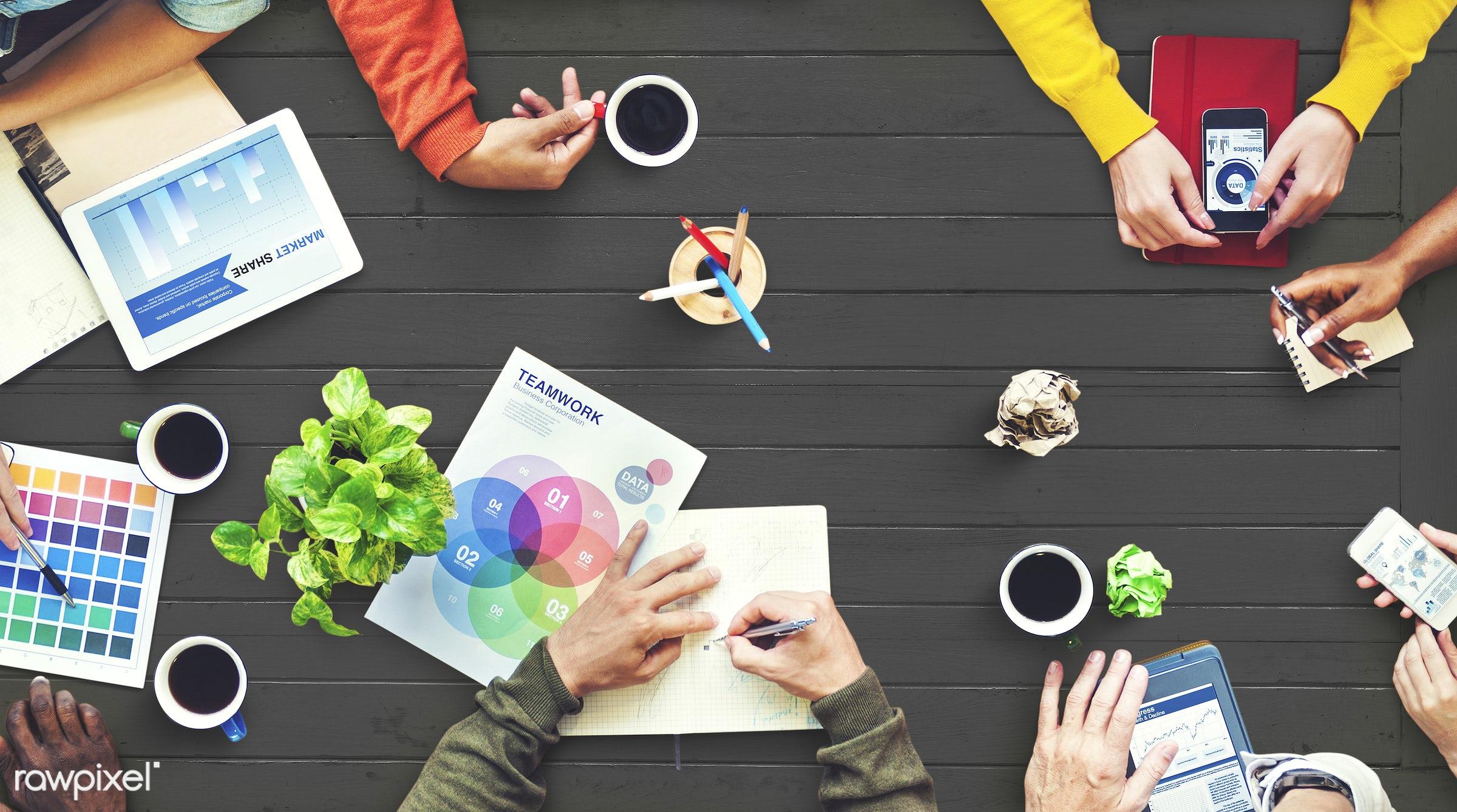 architecture, brainstorm, business, business people, businessman, colleagues, color spectrum, color swatch, designers,...