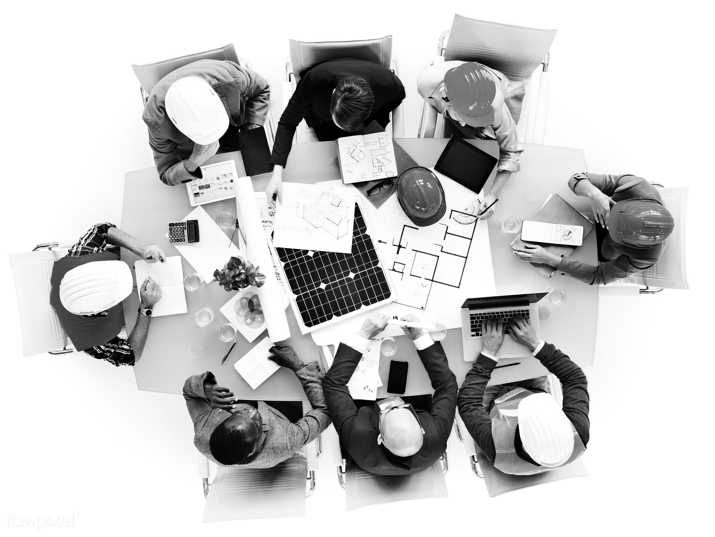 aerial view, architect, architecture, asian ethnicity, blueprint, brainstorming, business, business people, businessmen,...