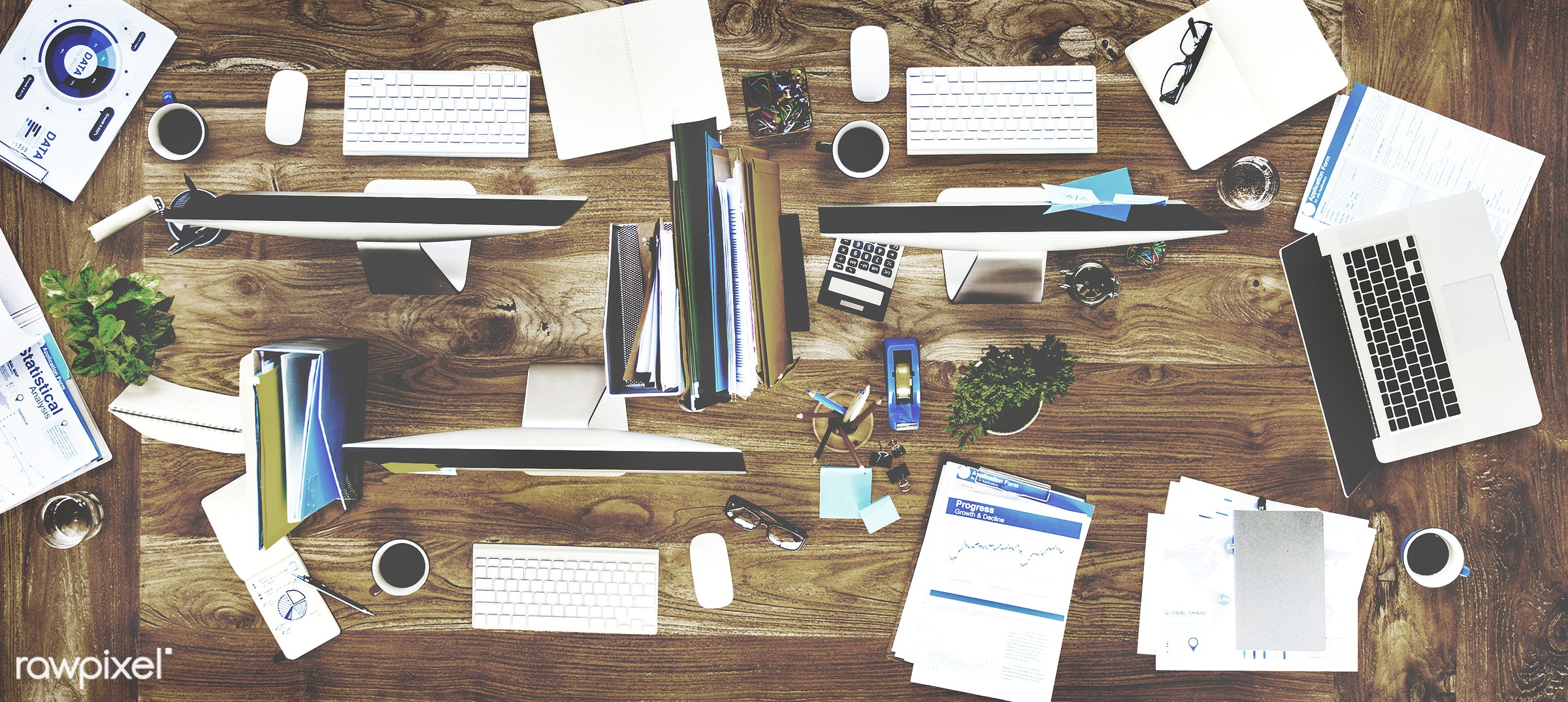 aerial view, business, computer, conference table, contemporary, desk, desktop pc, device, devices, digital, digital device...