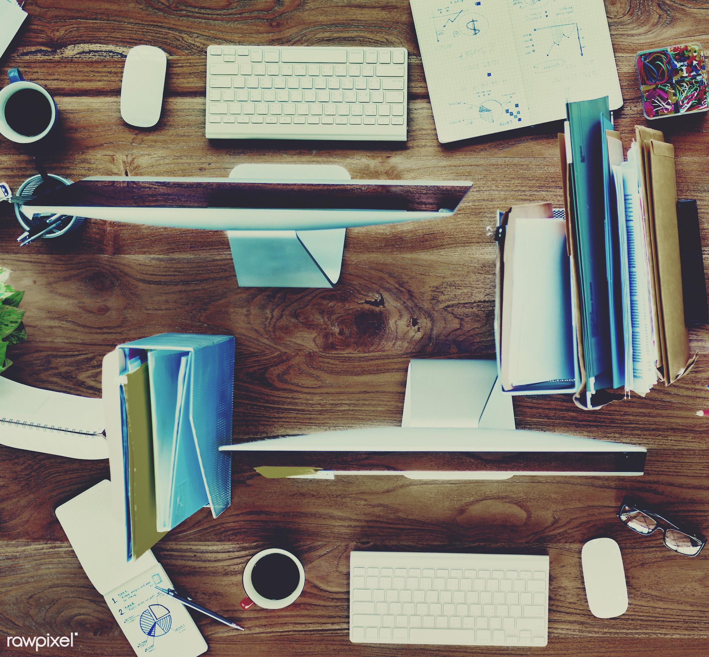 architecture, business, communication, computer, conference, contemporary, corporate, corporate business, desk, desktop pc,...