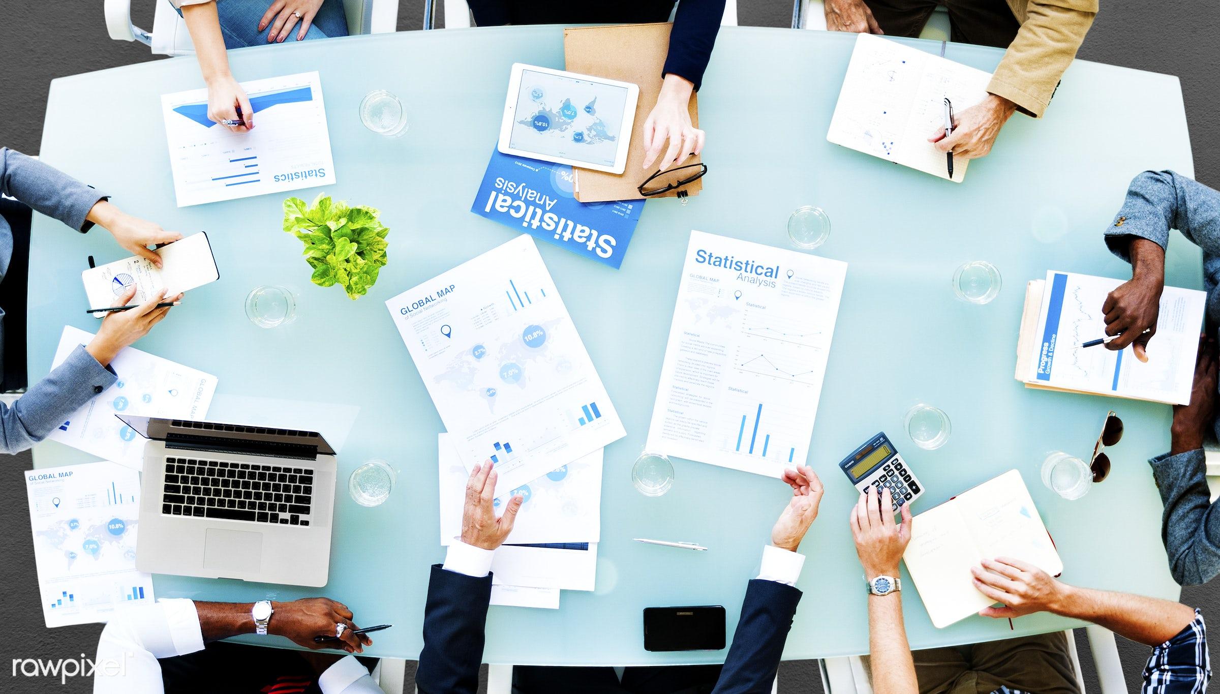 aerial view, analysis, analytics, board meeting, board room, brainstorming, business, business people, businessmen,...