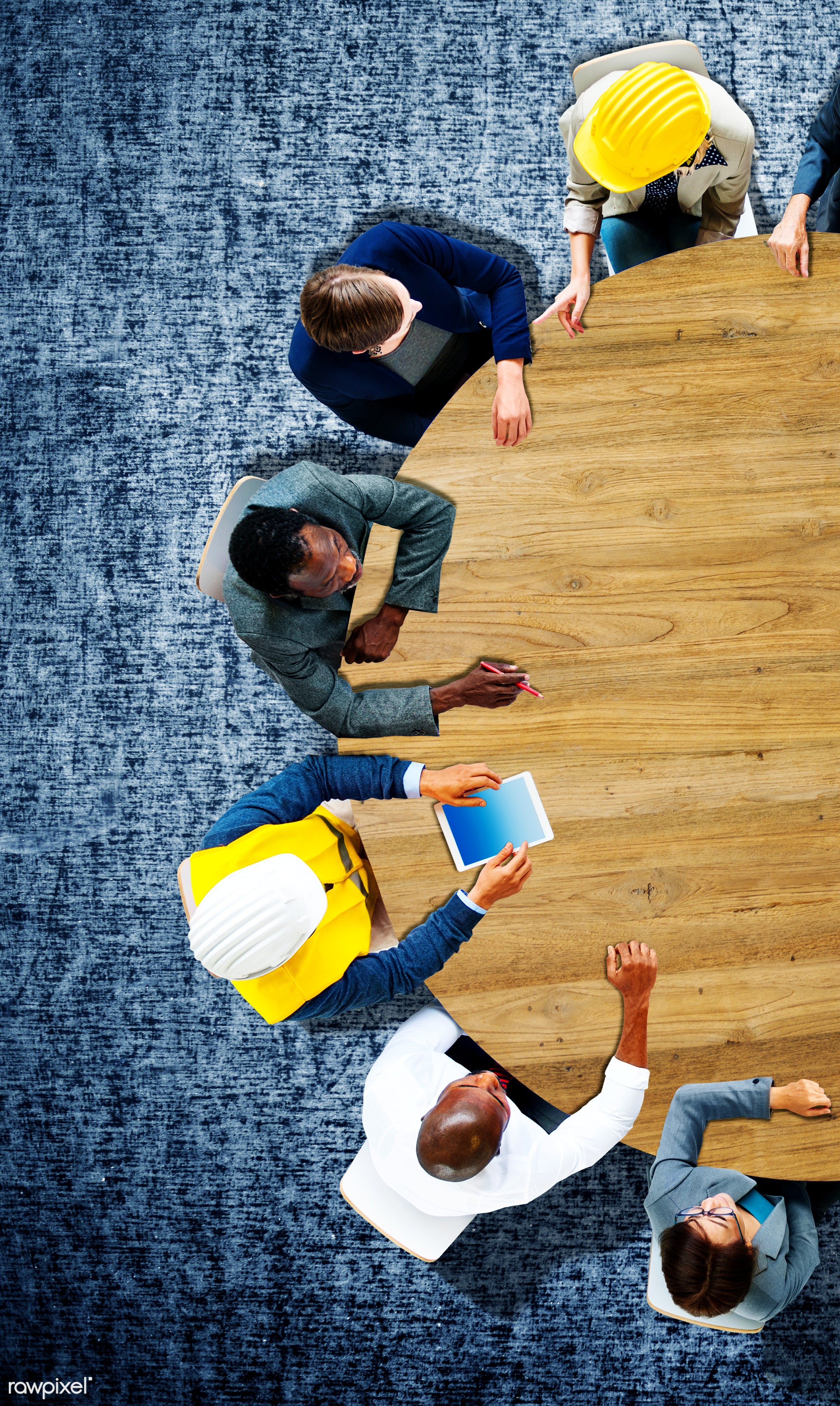 aerial view, african descent, architect, architecture, asian ethnicity, blank, brainstorming, business people, businessmen,...
