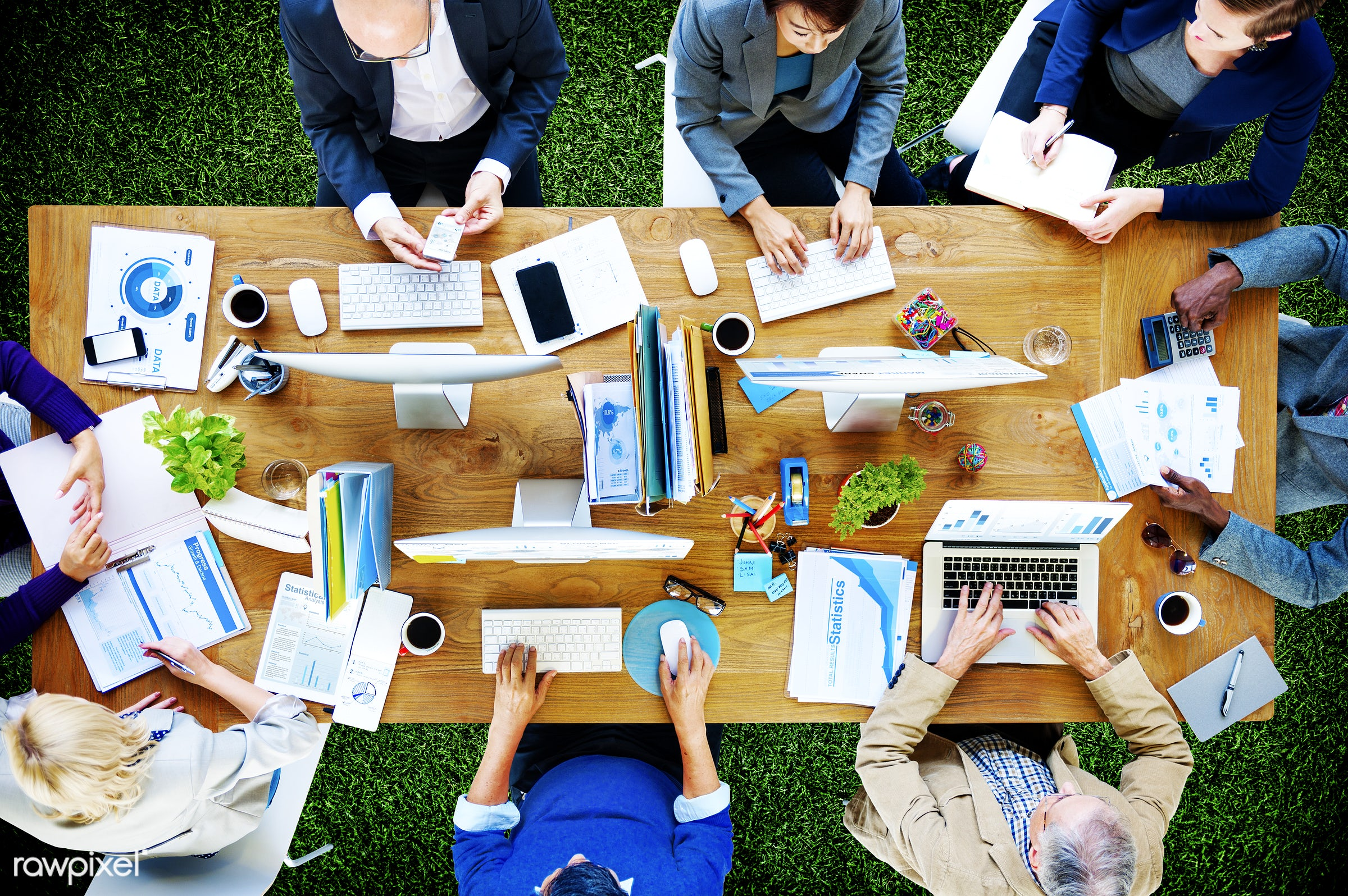administration, aerial view, brainstorming, business, business people, businessmen, businesswomen, communication, company,...