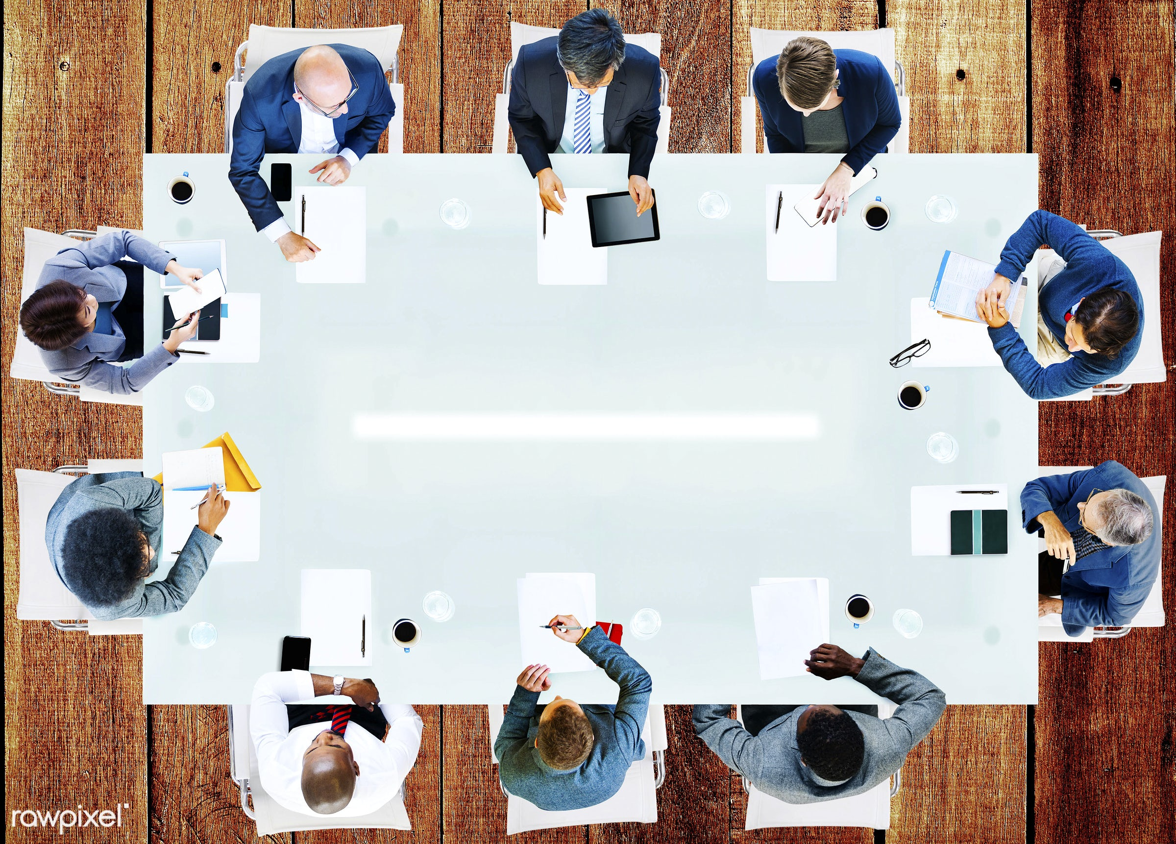 aerial view, african, african descent, analysis, asian, asian ethnicity, backgrounds, blank, business, business people,...