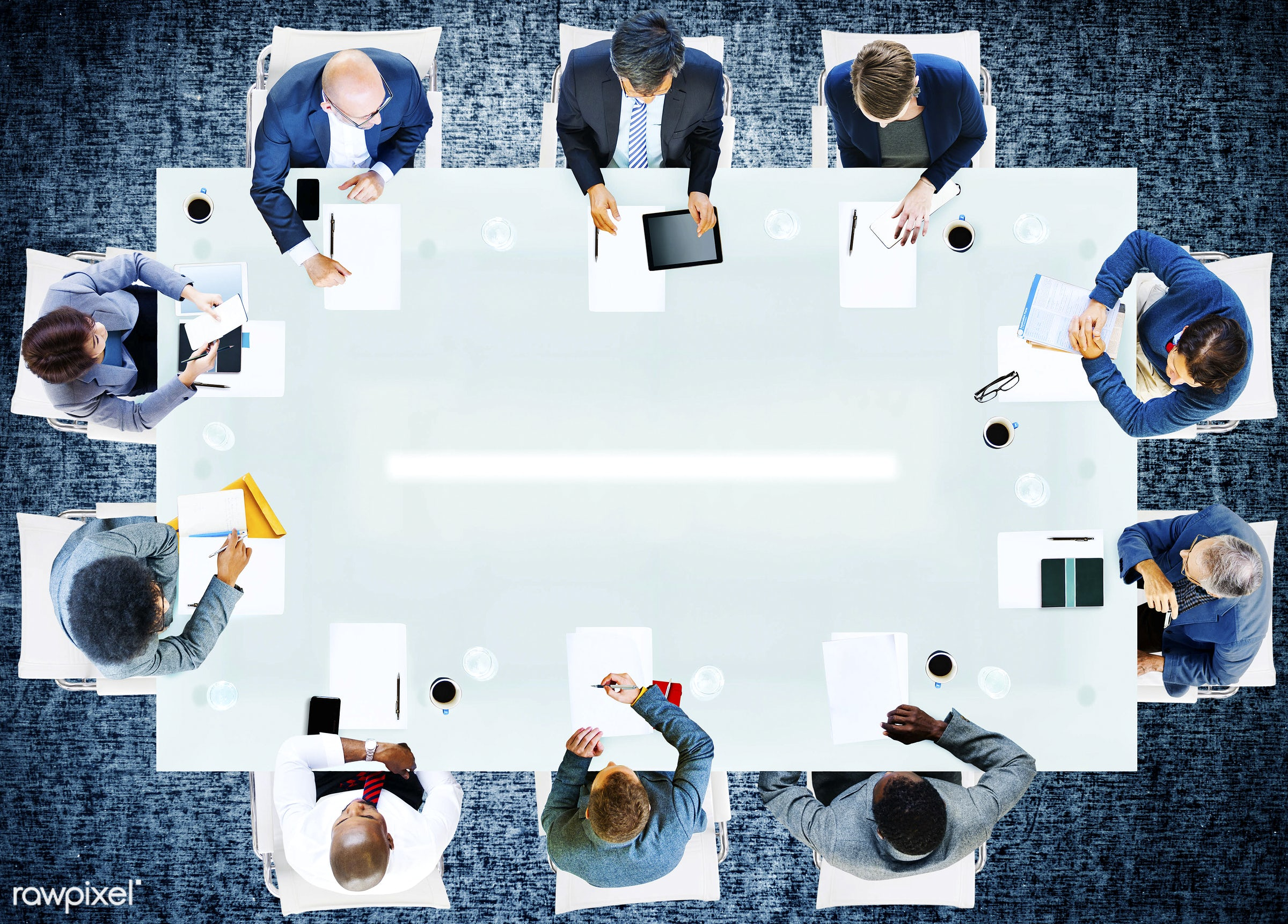 aerial view, african, african descent, analysis, asian, asian ethnicity, blank, business, business people, businessmen,...