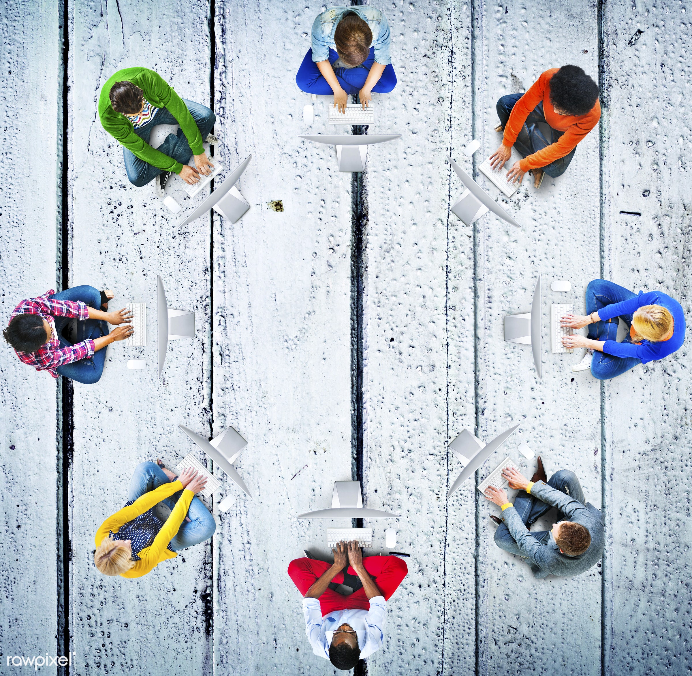 aerial view, african ethnicity, asian ethnicity, backgrounds, chatting, close-up, communication, computer, connection,...