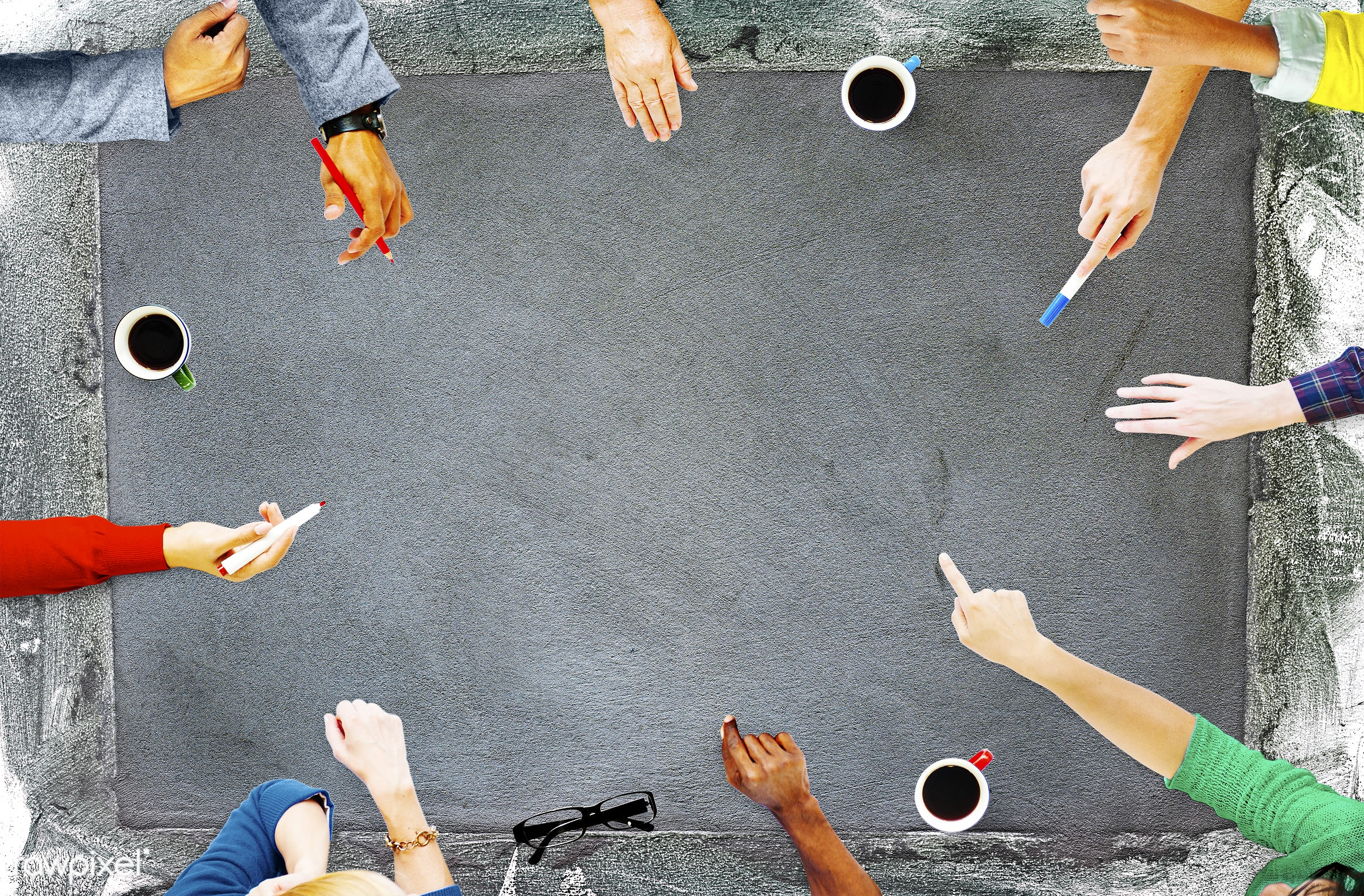 aerial view, arts, blank, brainstorming, business, business people, casual, communication, concrete, conversation, copy...