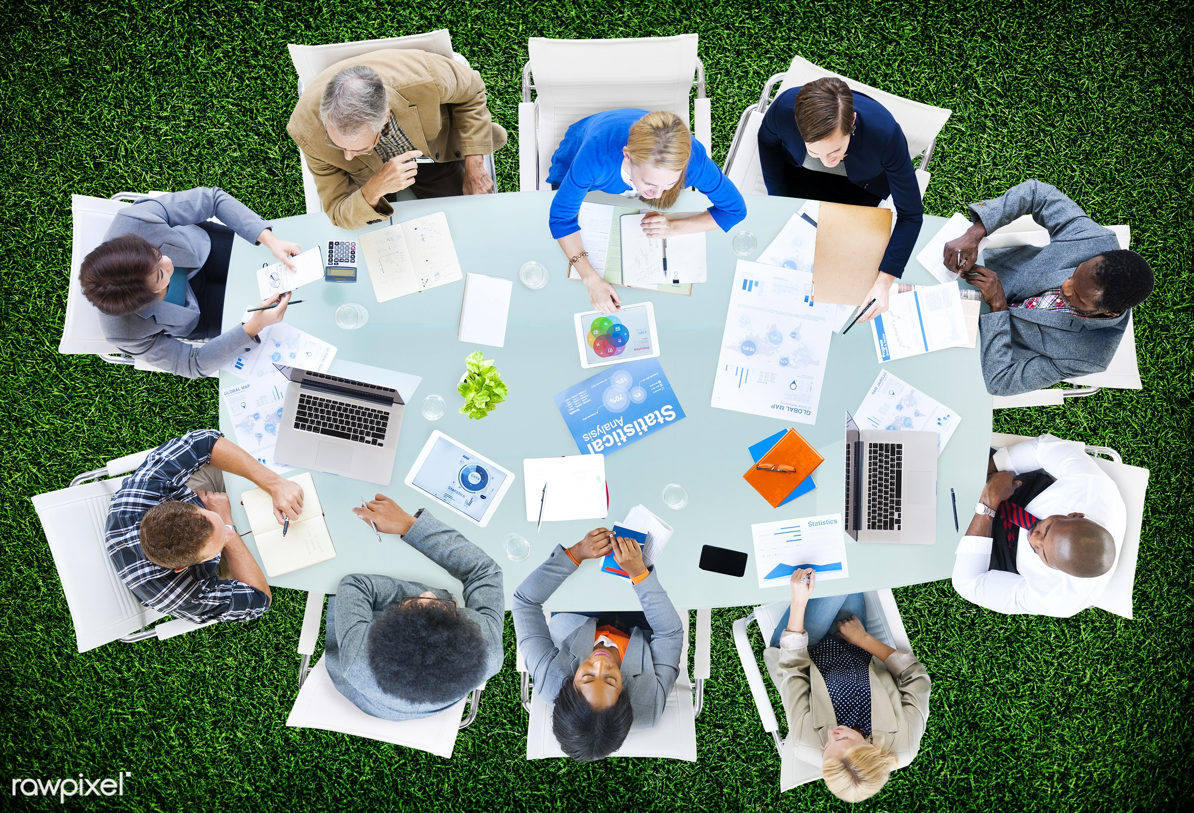 aerial view, backdrop, background, brainstorming, business, business people, businessmen, businesswomen, casual, closeup,...