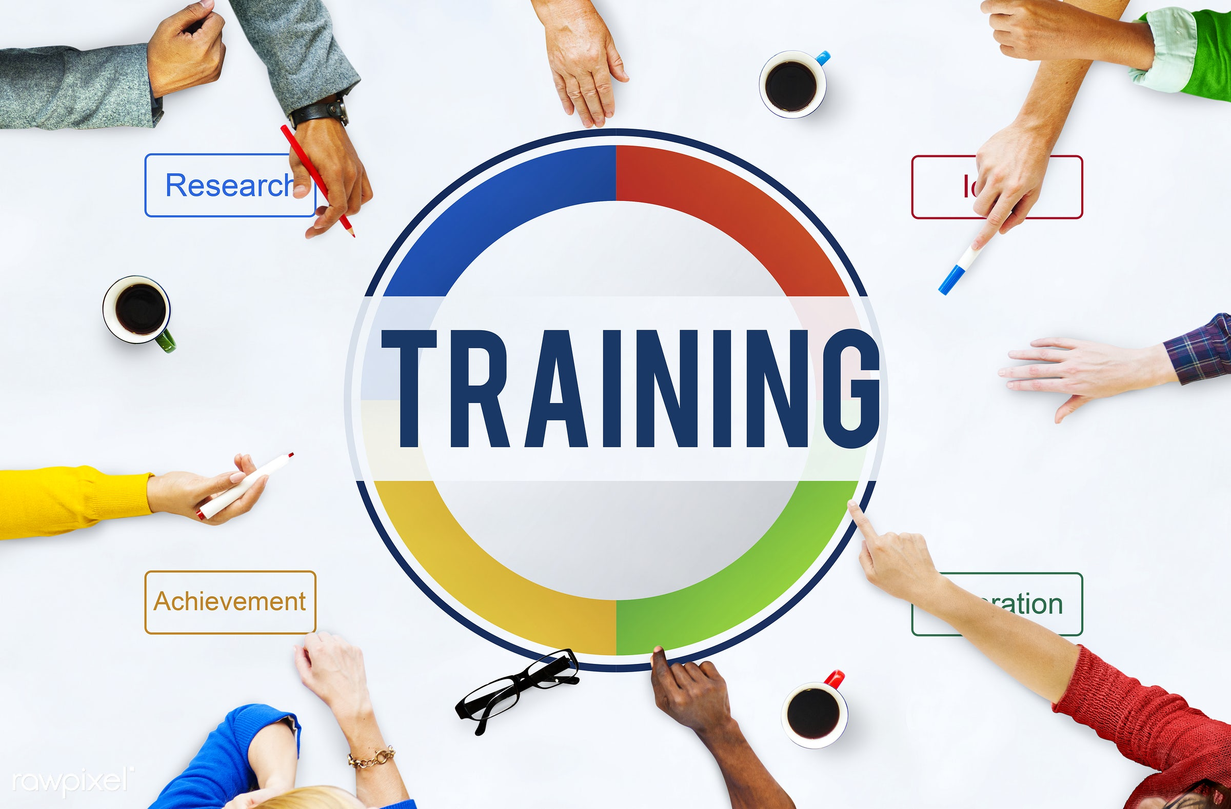 Development Knowledge Study Education Concept - achievement, business, graphic, plan, planing, pointing, research, training...