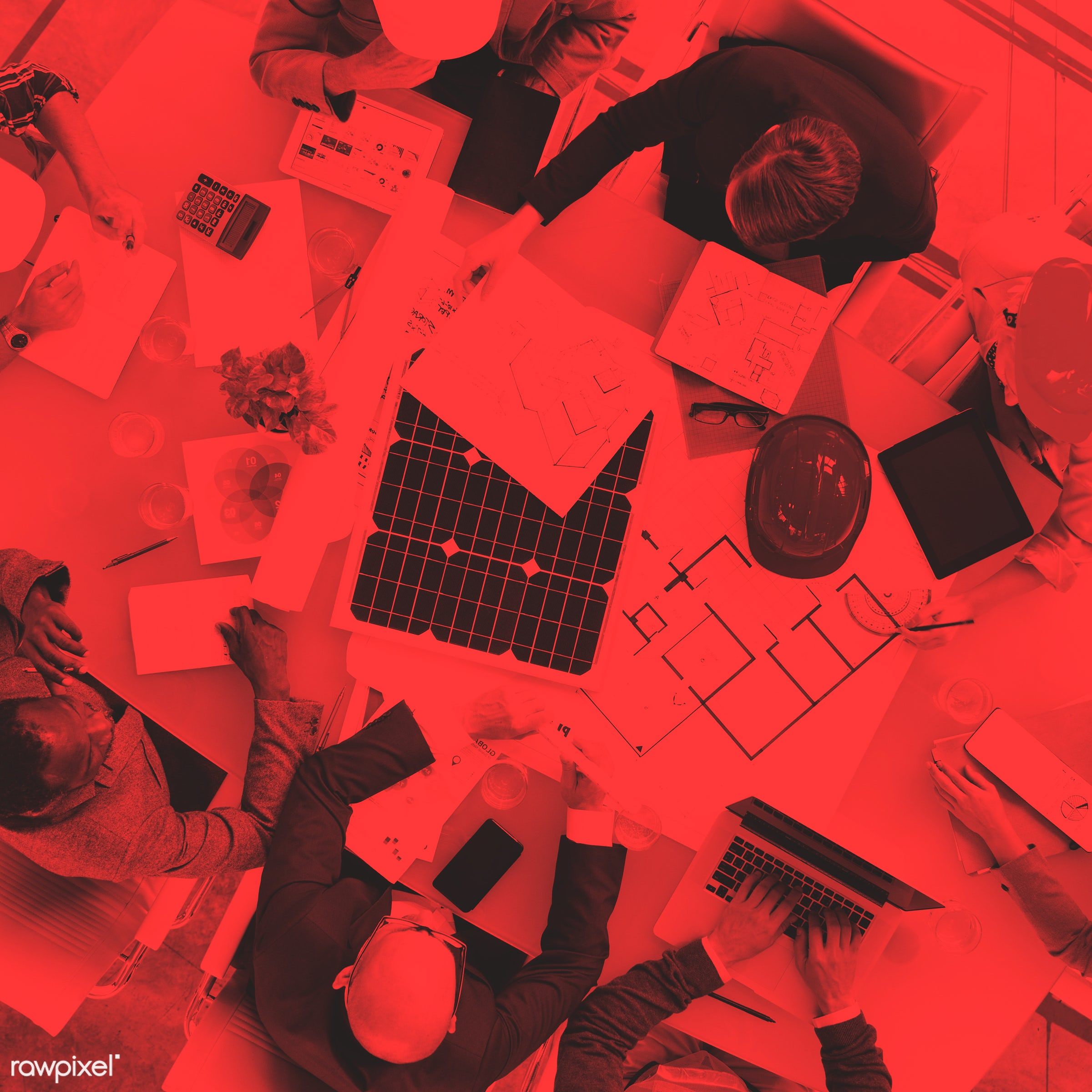 aerial view, african descent, architect, asian ethnicity, blueprint, boardroom, brainstorming, business, business people,...