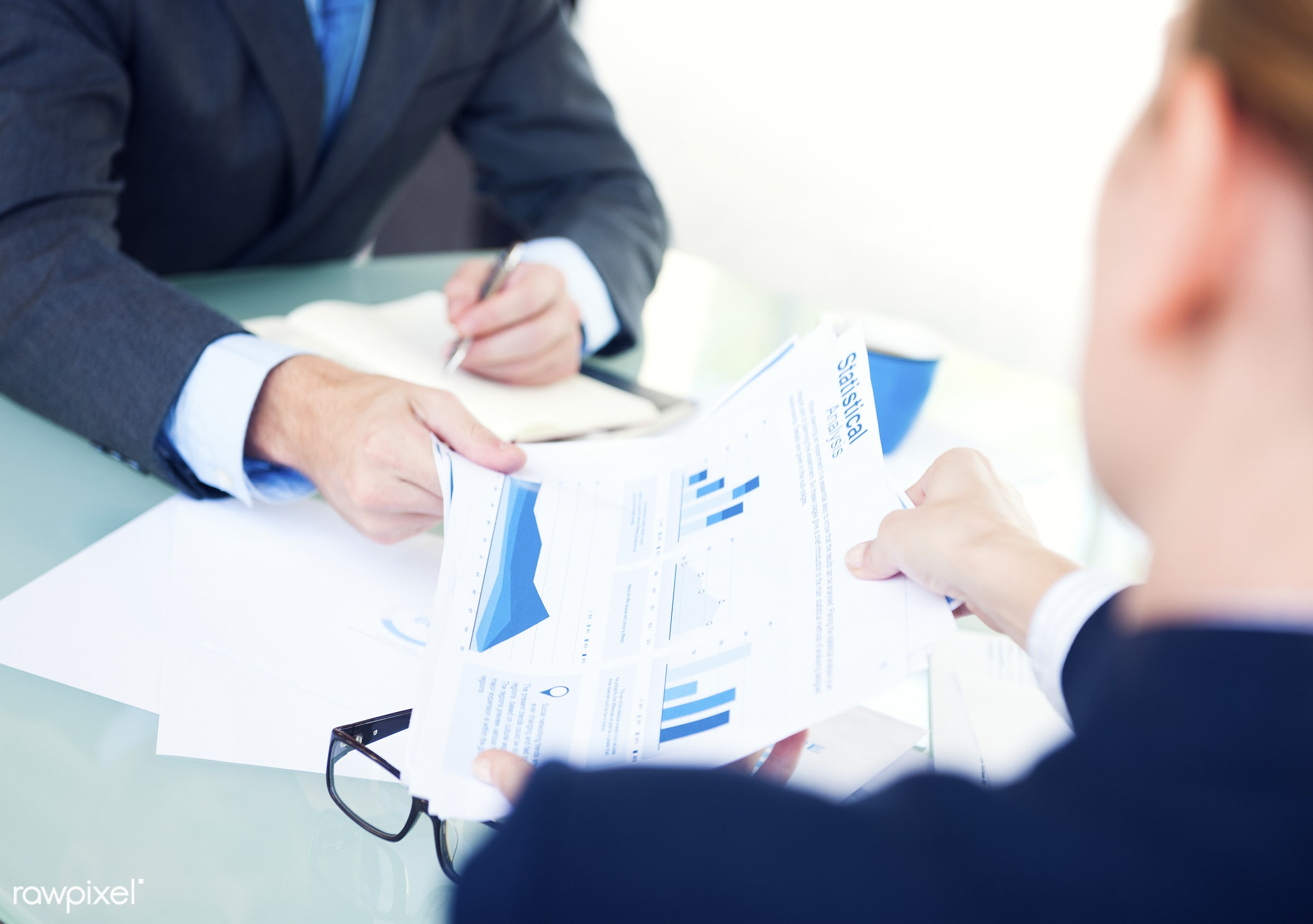 accounting, analytic, analyzing, business, businessman, calculator, coffee, coffee break, data, desk, diagram, economy, home...