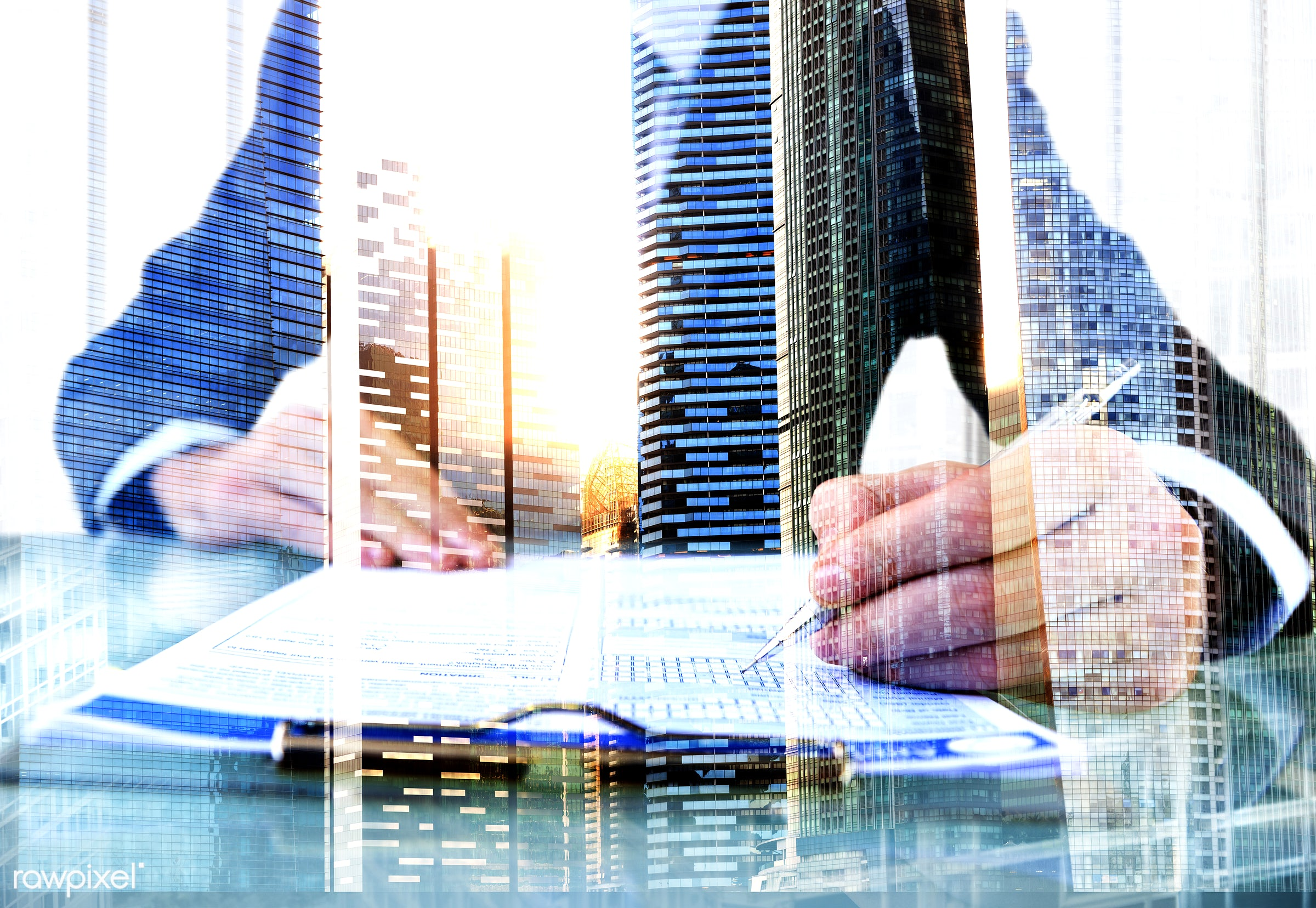 agenda, analysing, building, business, businessman, city, cityscape, concentrate, document, learning, man, marketing,...