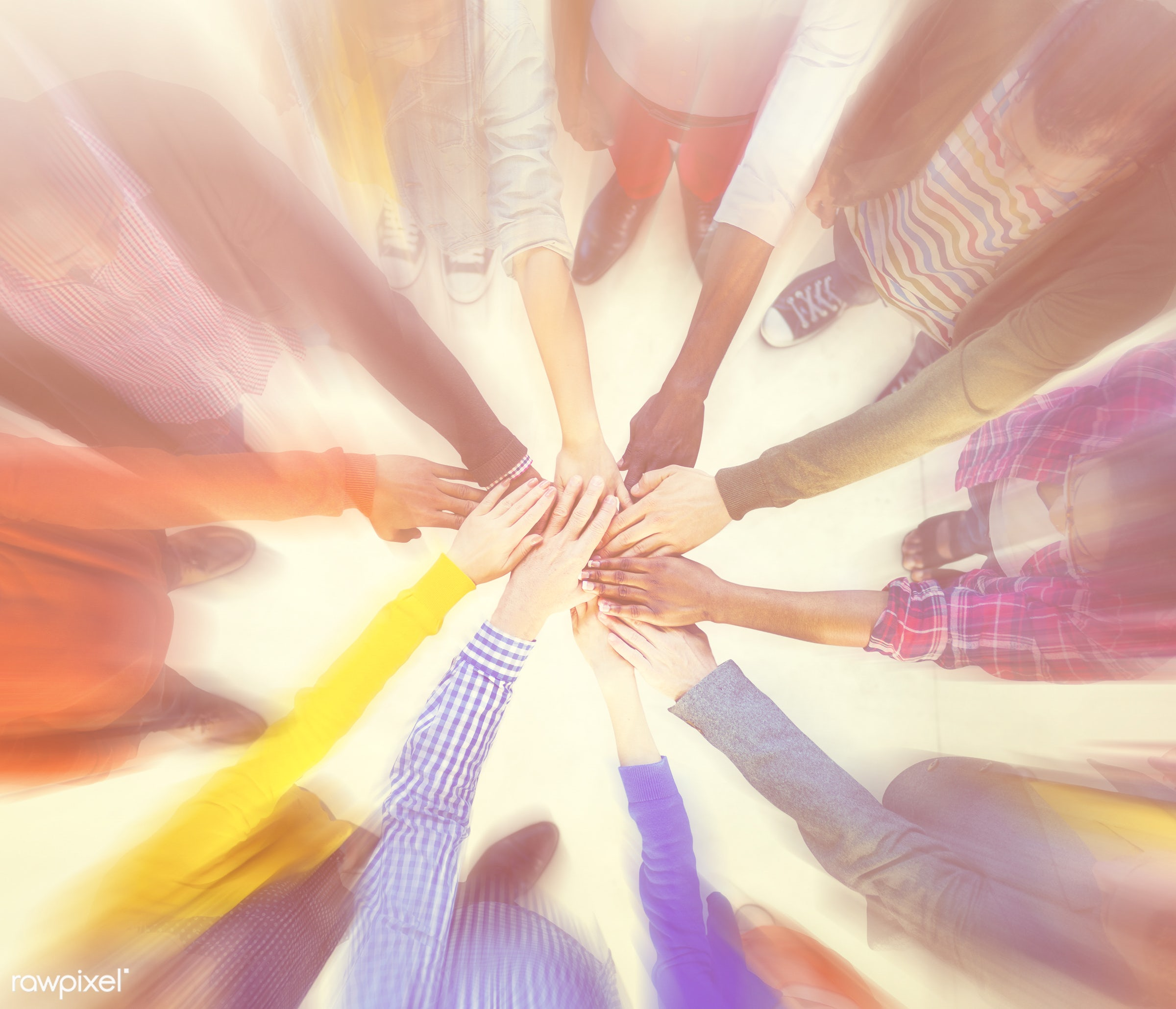 aerial, african american, african descent, asian, black, caucasian, community, diversity, group, hands, helping hands,...