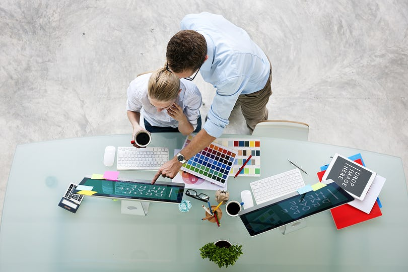 Brainstorming Planning Partnership Strategy Adminstratation Concept