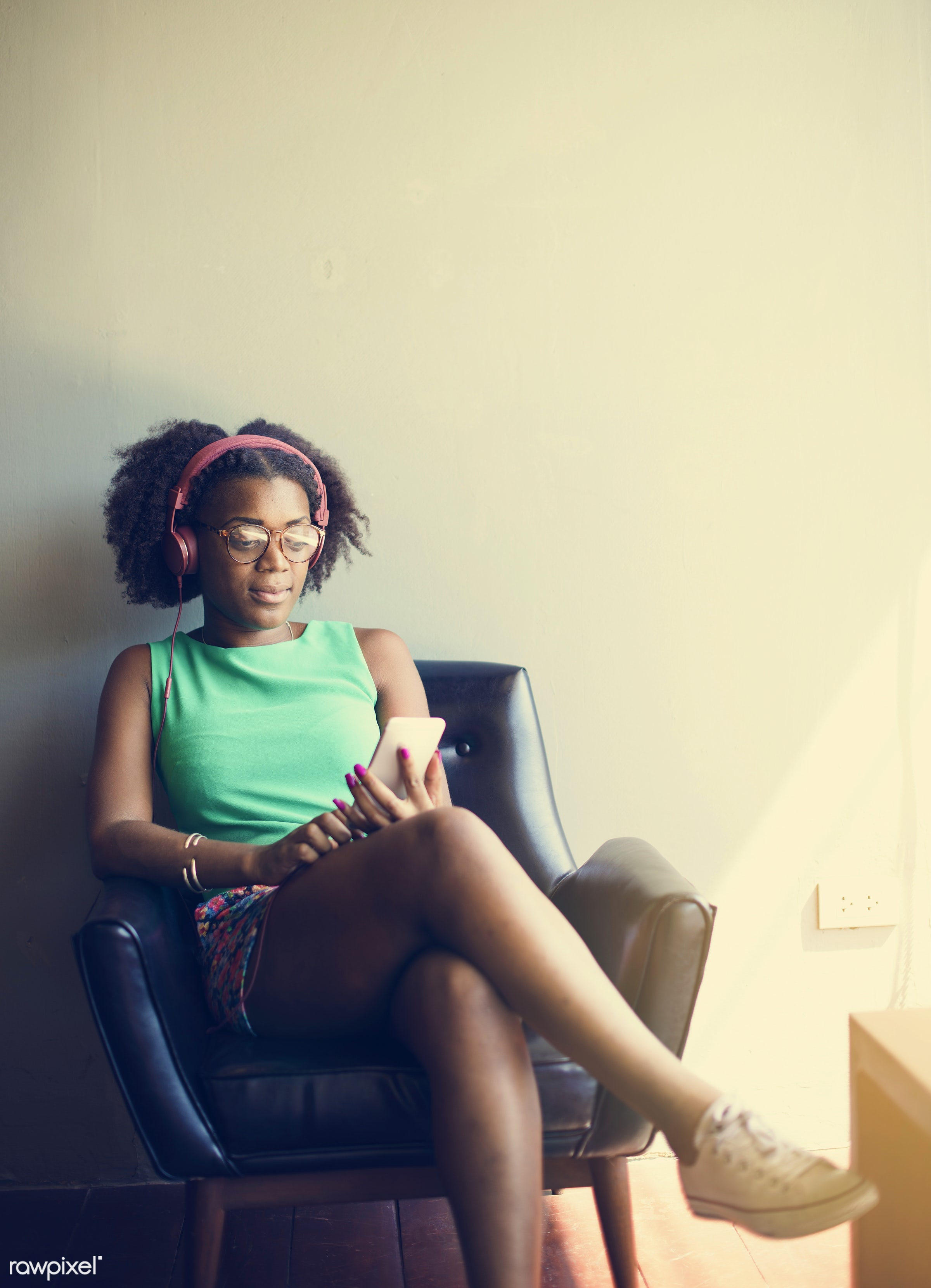 african, african descent, analysing, browsing, business, businesswoman, cafe, casual, cheerful, contemporary, digital,...