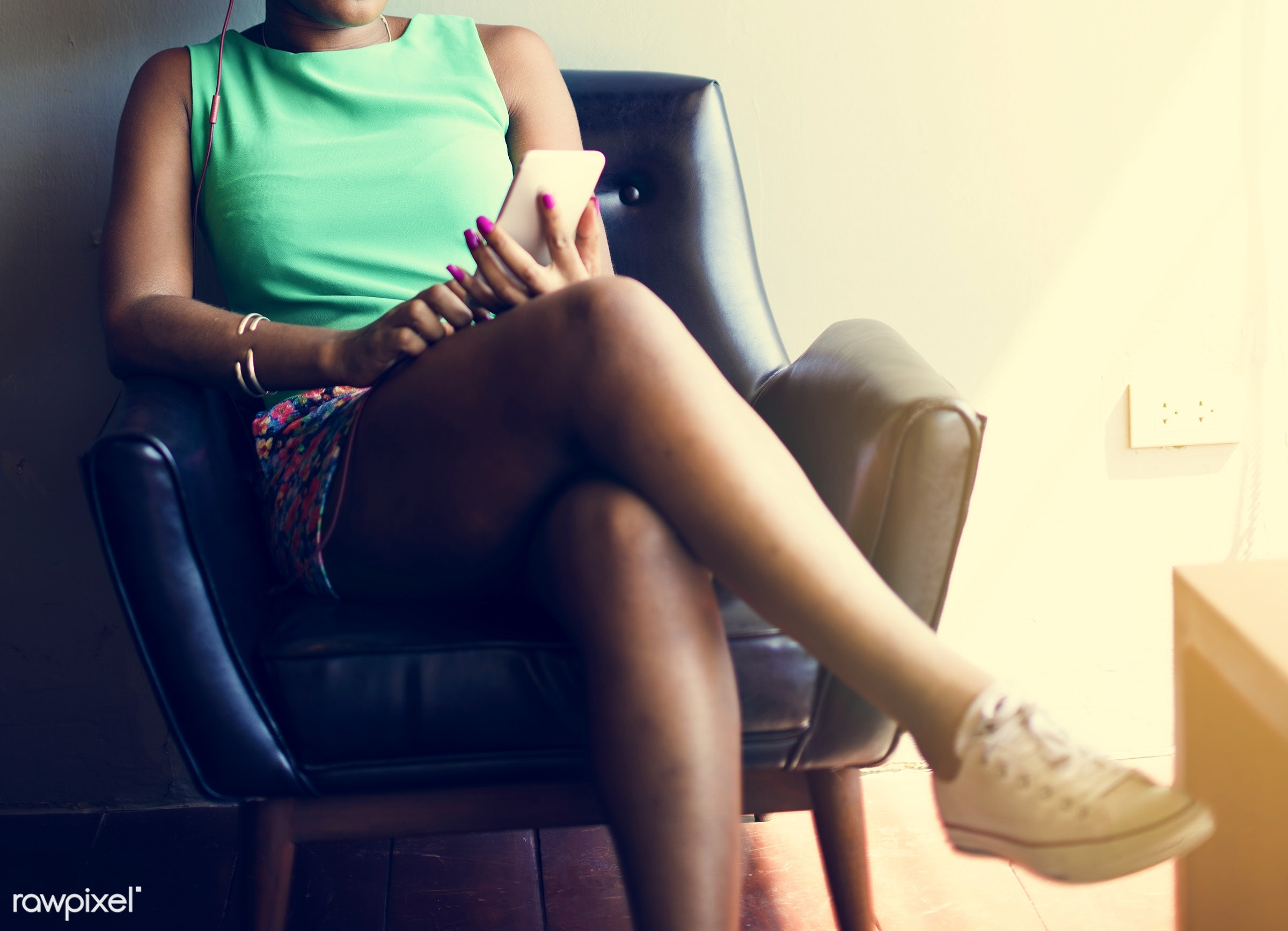 african, african descent, analysing, browsing, business, businesswoman, cafe, casual, cheerful, digital, digital device,...