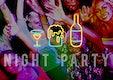 Party Night Life Fun Enjoy Concept