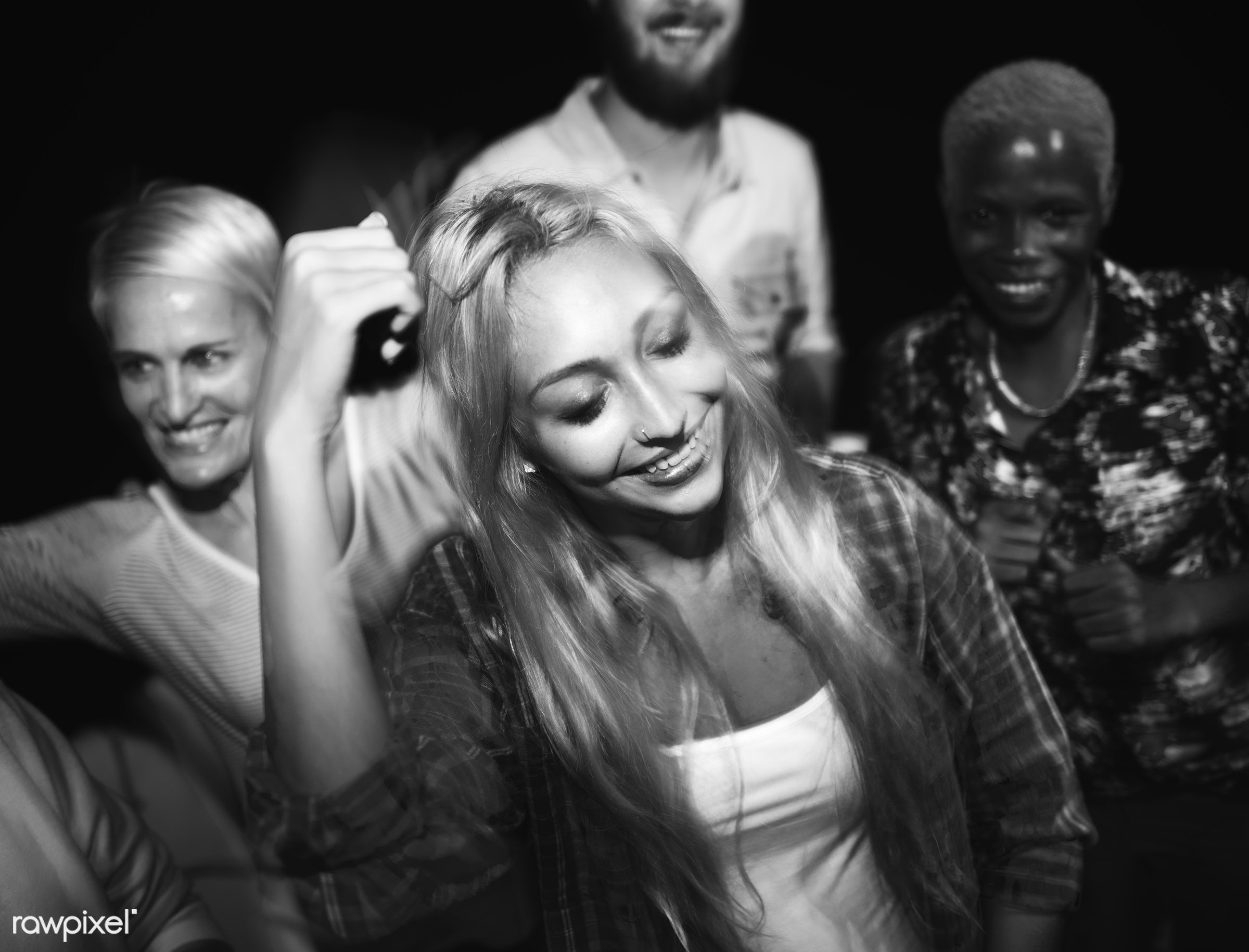 actions, active, adolescence, adult, african, bar, beautiful, caucasian, celebration, cheerful, club, clubbing, company,...
