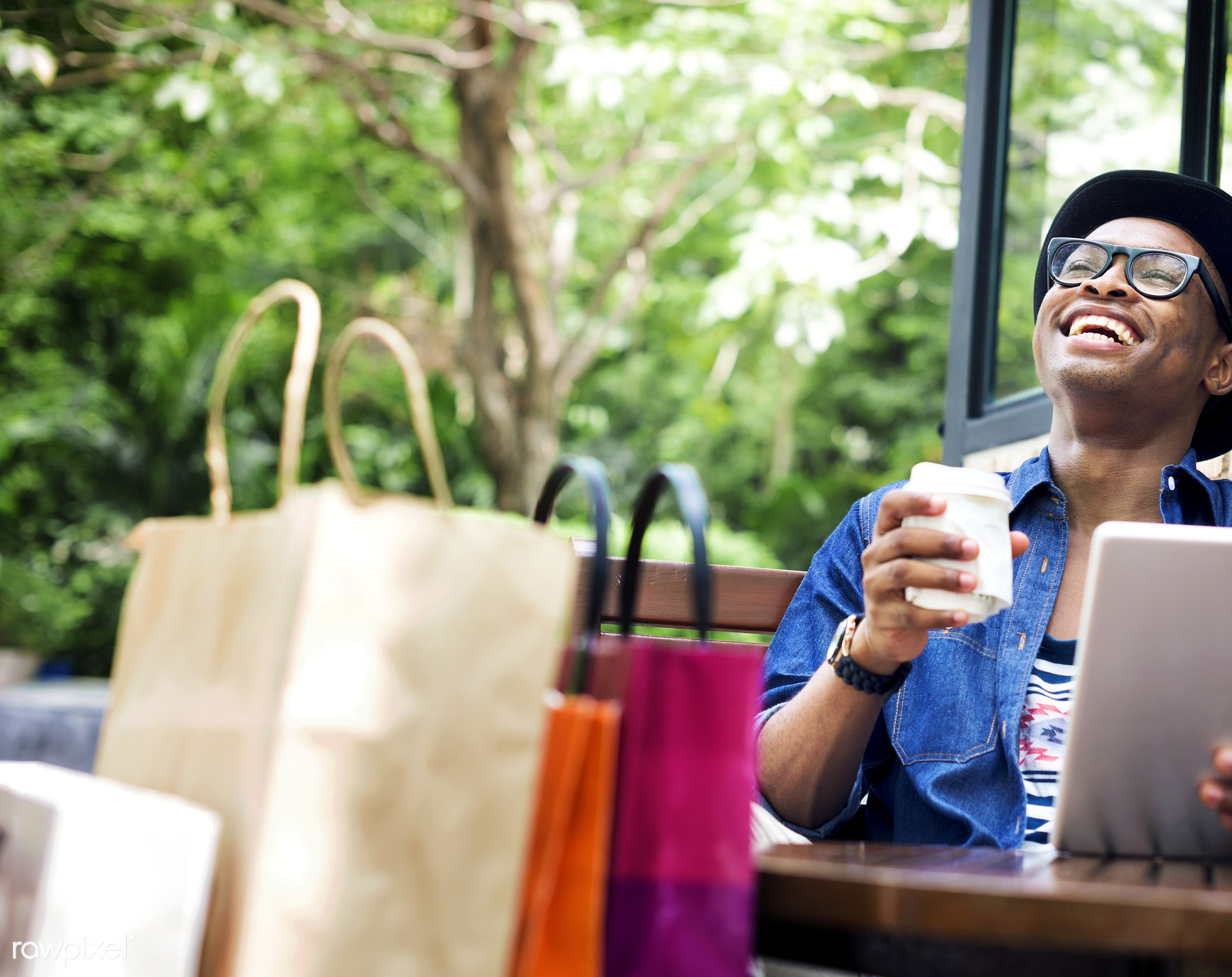 african descent, buyer, buying, cafe, casual, cheerful, coffee, coffee shop, commerce, communication, connection, consumer,...