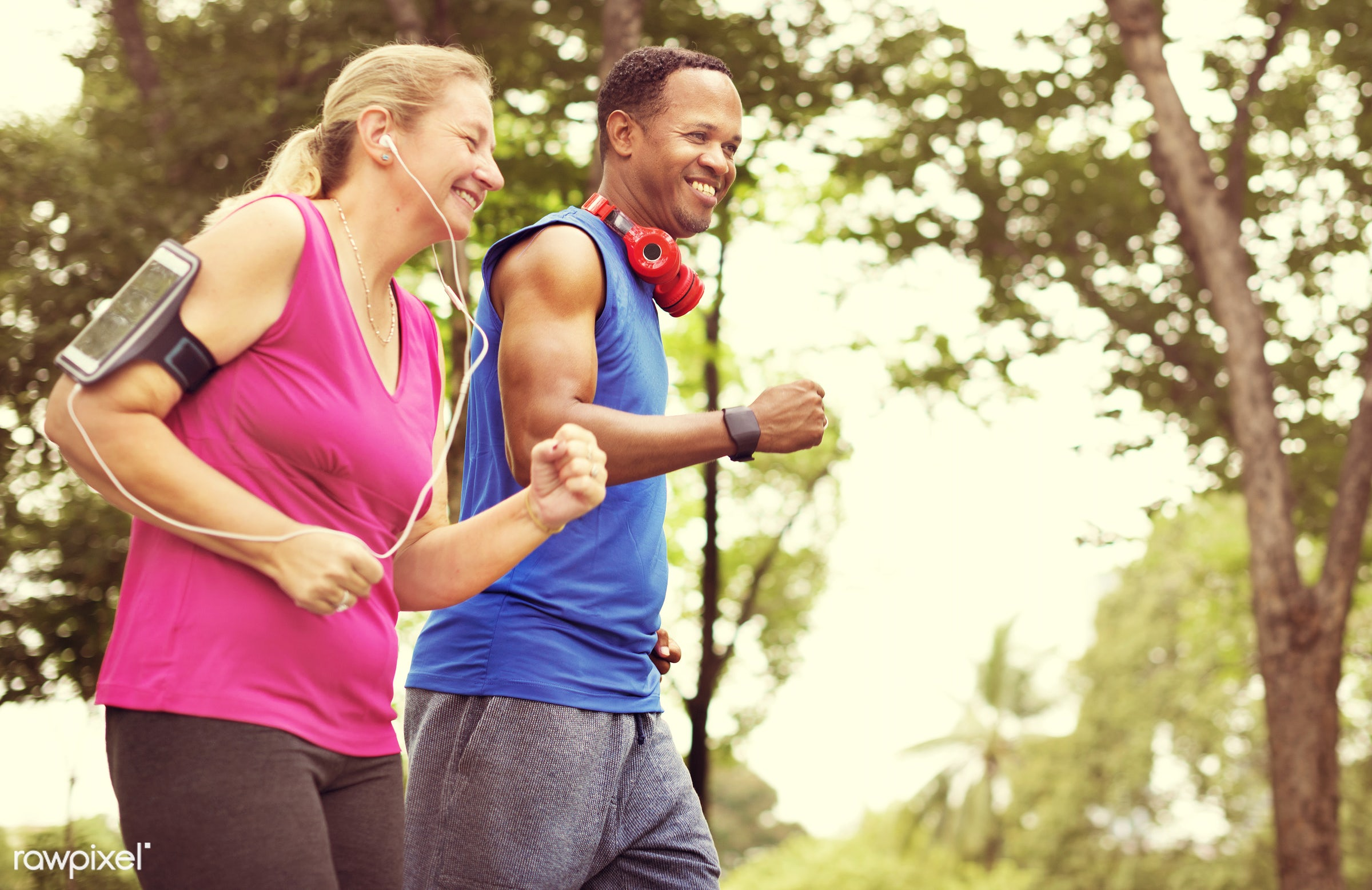 marathon, activity, bonding, cheerful, couple, enjoyment, exercise, fitness, freshness, garden, happiness, happy, health,...