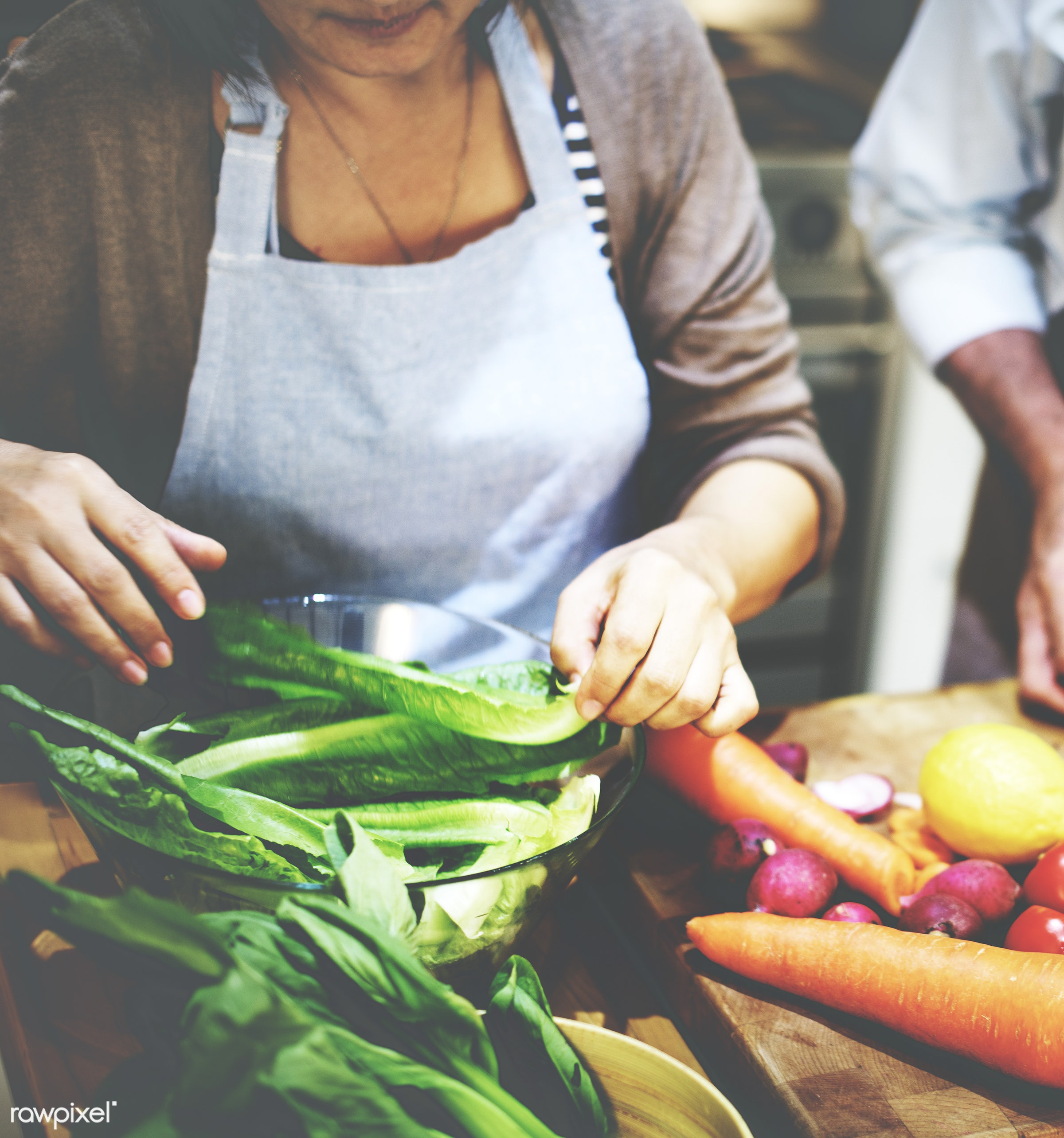 activity, apron, casual, cheerful, chef, chopping block, communication, connection, cookery, cookhouse, cooking, couple,...