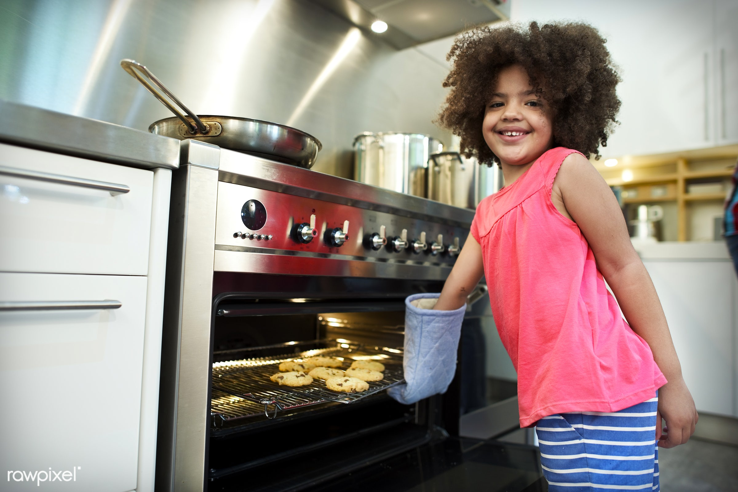 activity, african, african descent, bake, baker, bakery, bowl, cake, casual, cheerful, chef, child, childhood, children,...