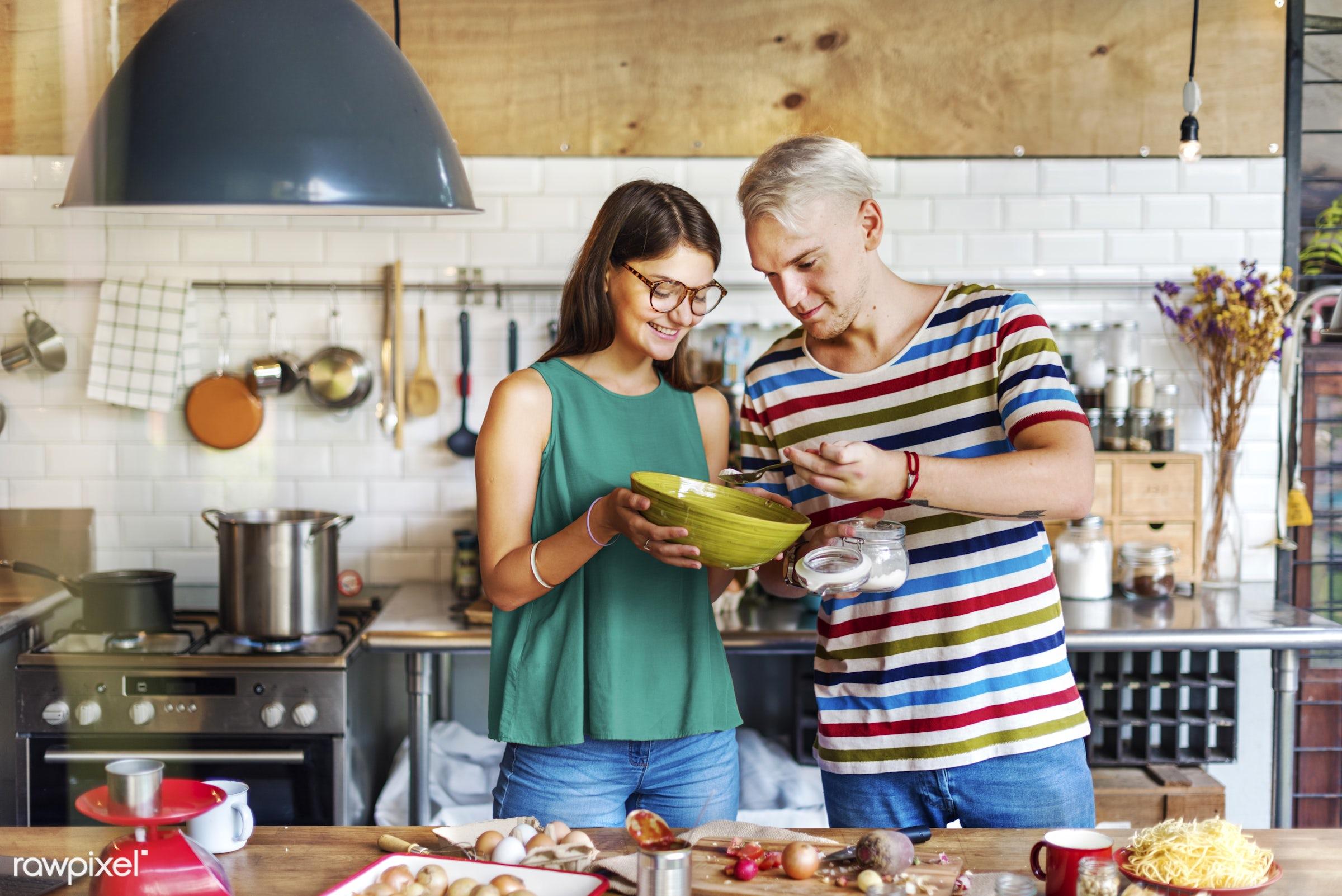 activity, bonding, boyfriend, breakfast, casual, cheerful, couple, cuisine, culinary, dietary, dinner, eating, enjoyment,...