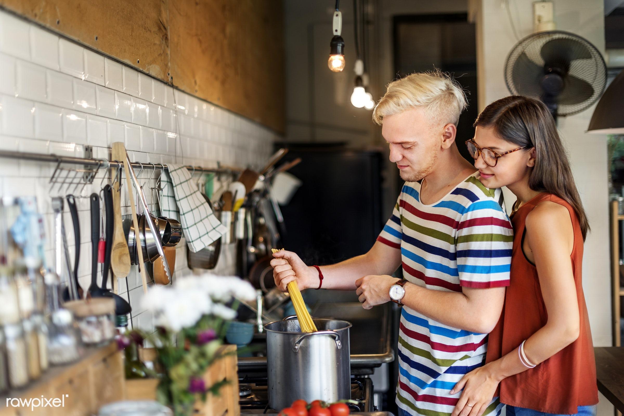 activity, apples, bonding, boyfriend, breakfast, casual, cheerful, couple, cuisine, culinary, dietary, dinner, eating,...