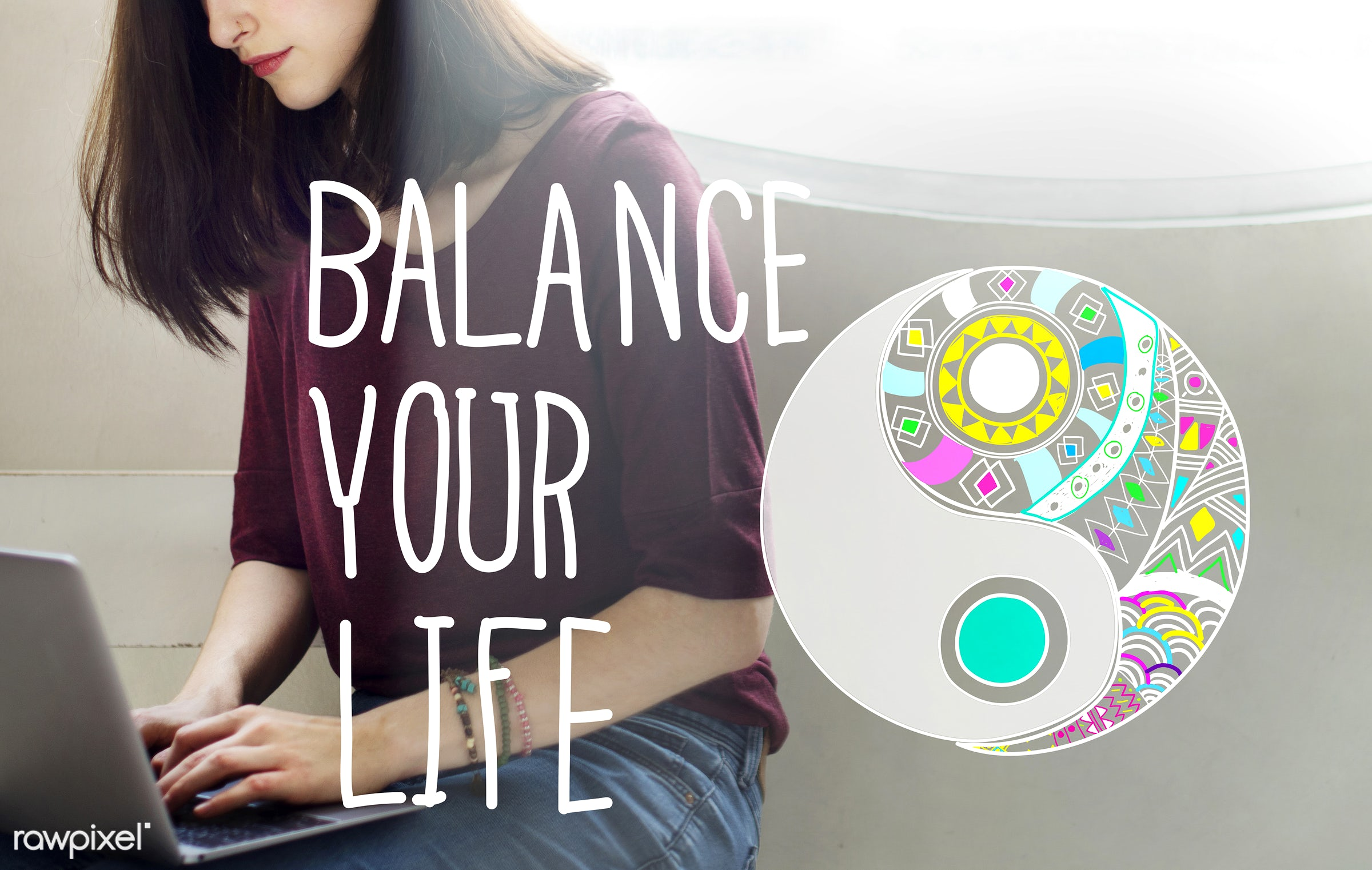 balance, balance your life, beautiful, browsing, casual, chat, concept, equal, equality, equilibration, equivalence, fitness...