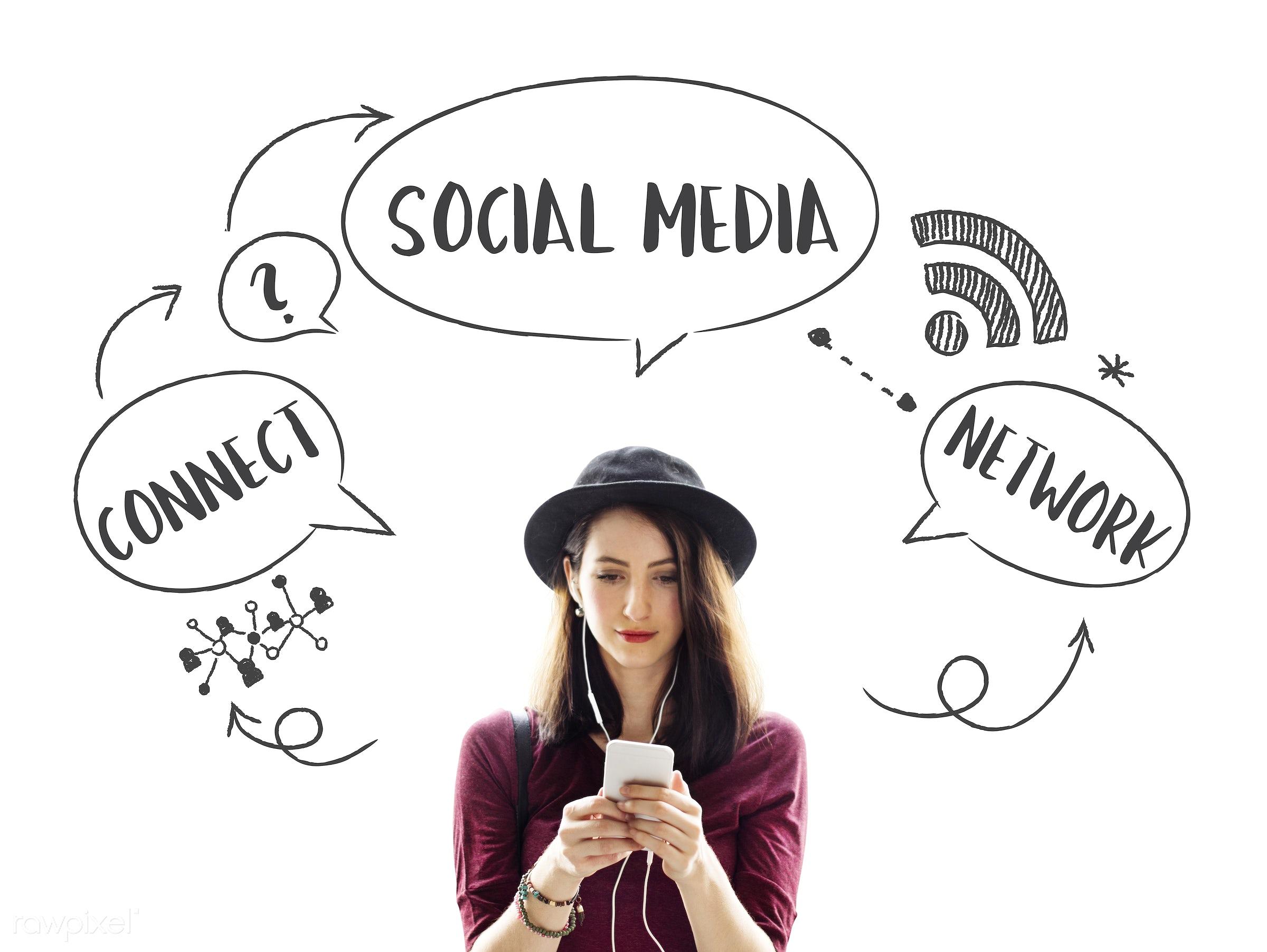 follow, blog, web, beautiful, casual, chat, chic, communication, community, connection, cute, digital, digital device,...