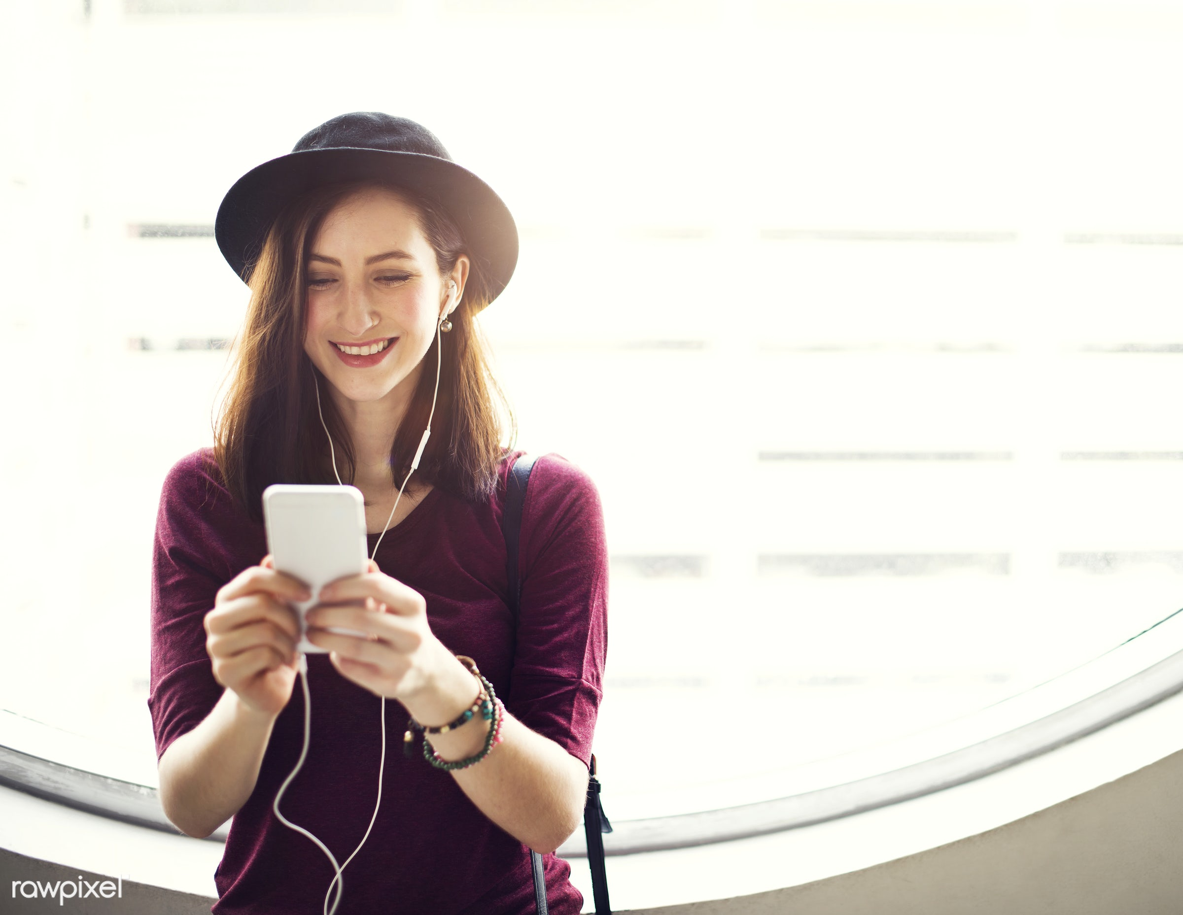 activity, audio equipment, calm, casual, cheerful, chilling, connection, content, device, earphones, electronic, enjoyment,...